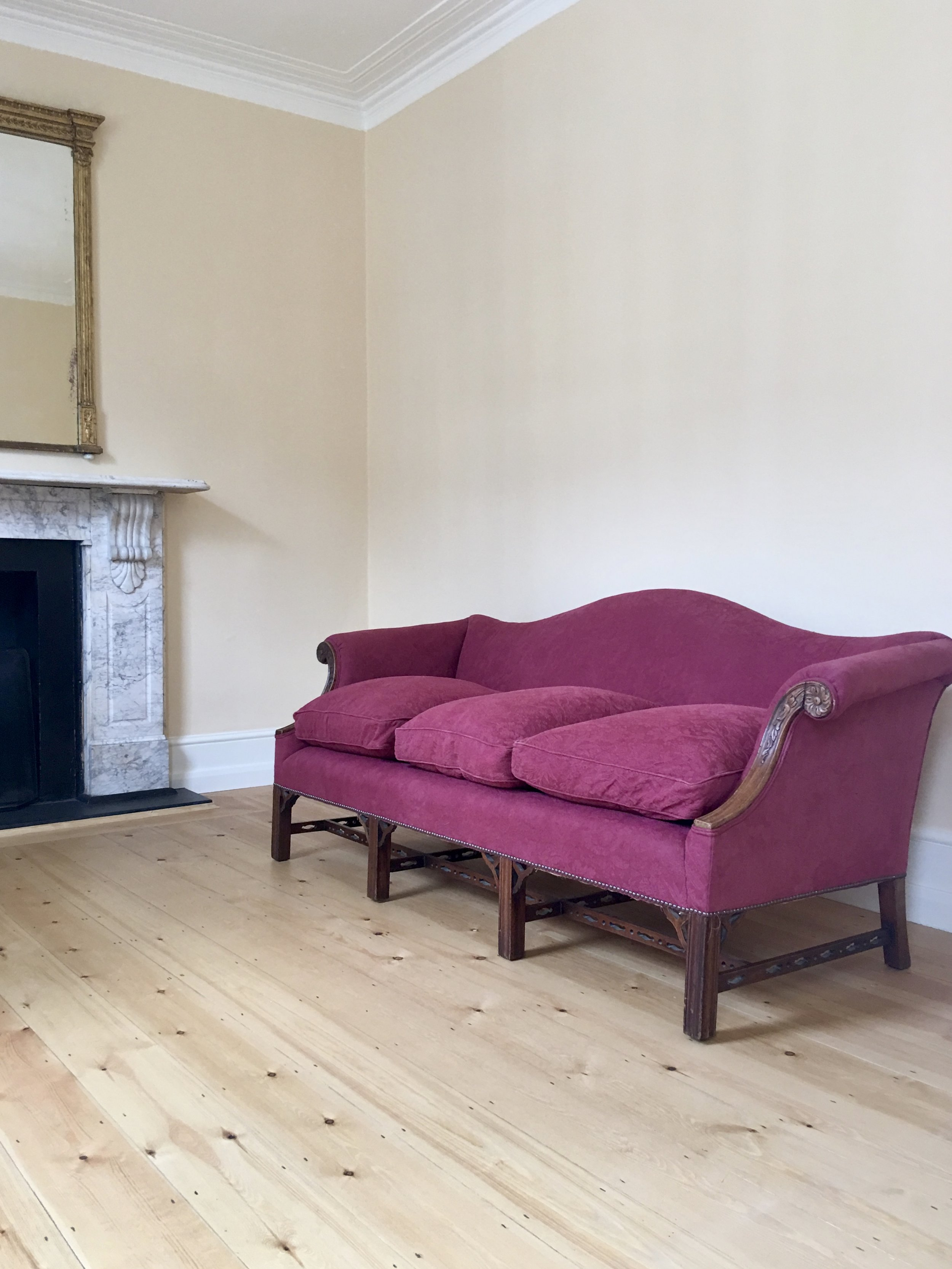 - Safely delivered to the first floor, and perfect proportions for the room. Claudio, London