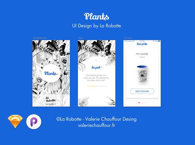UI/UX Design - Plants
