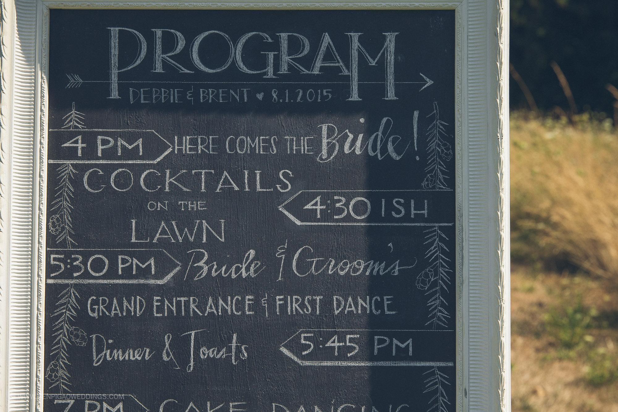 Bridalbliss.com   Columbia Gorge Wedding   Washington Event Planning and Design   Ben Pigao Photography