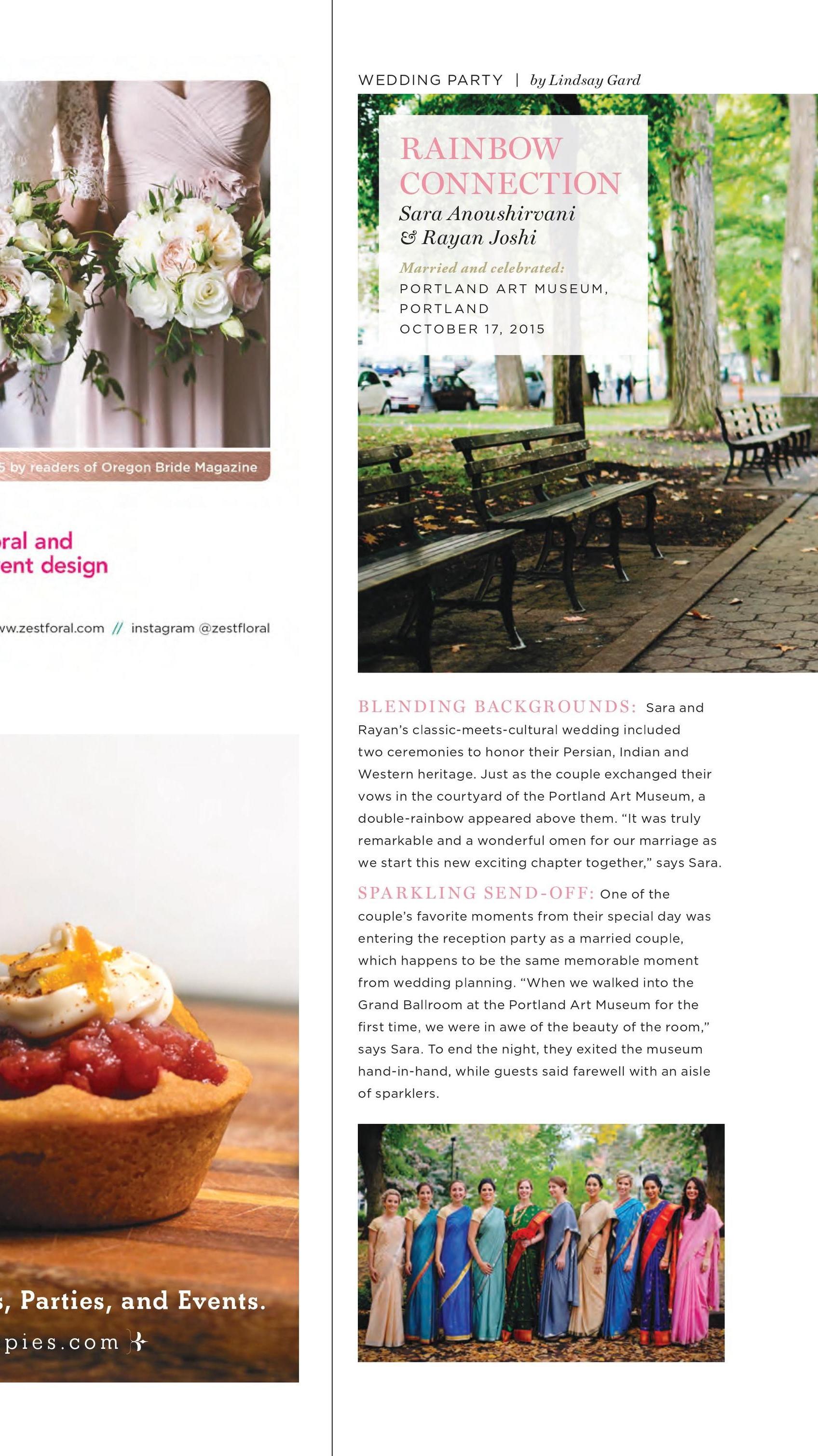 Bridalbliss.com   Oregon Washington Wedding Planning