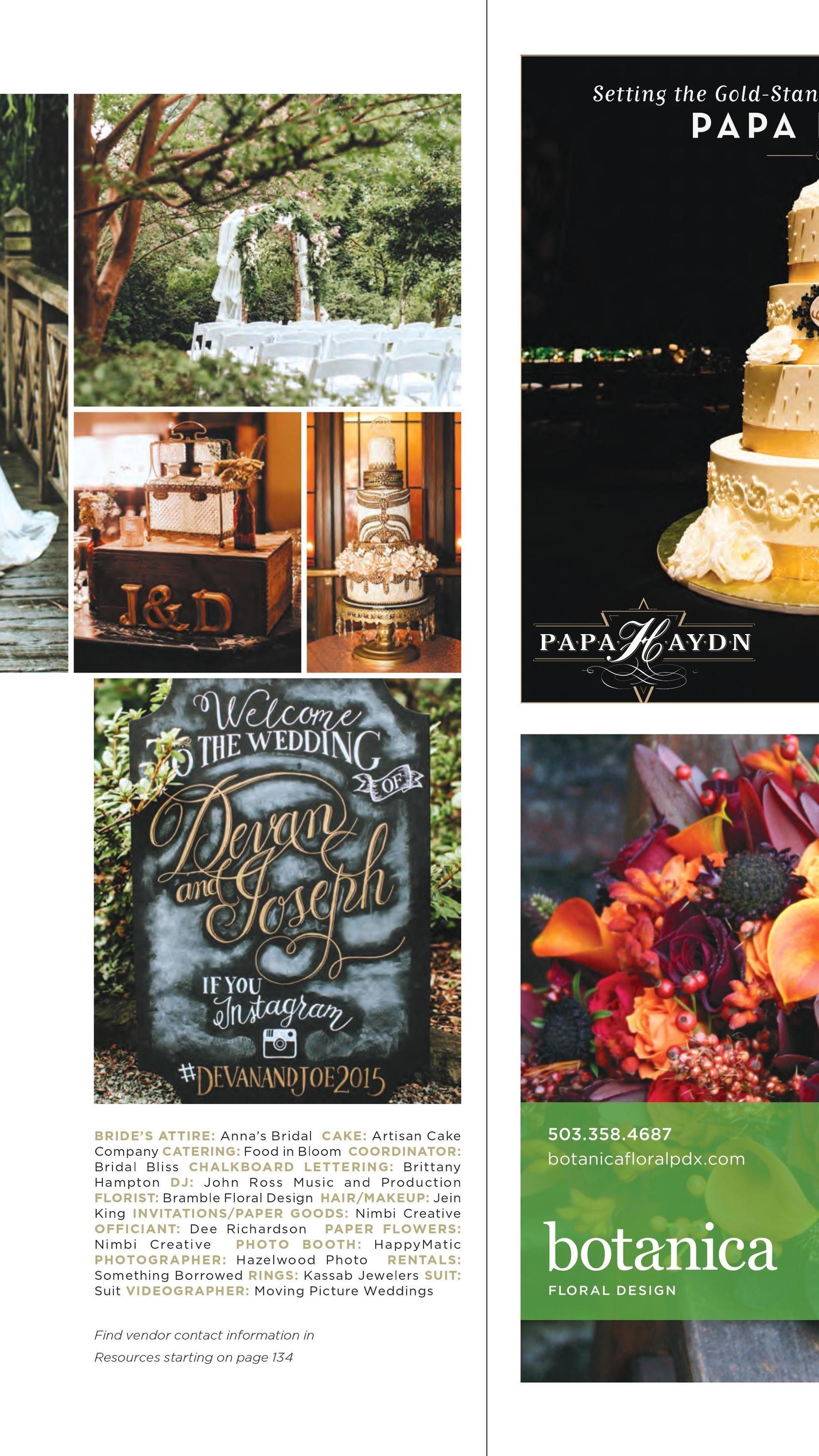 Bridalbliss.com | Oregon Washington Wedding Planning