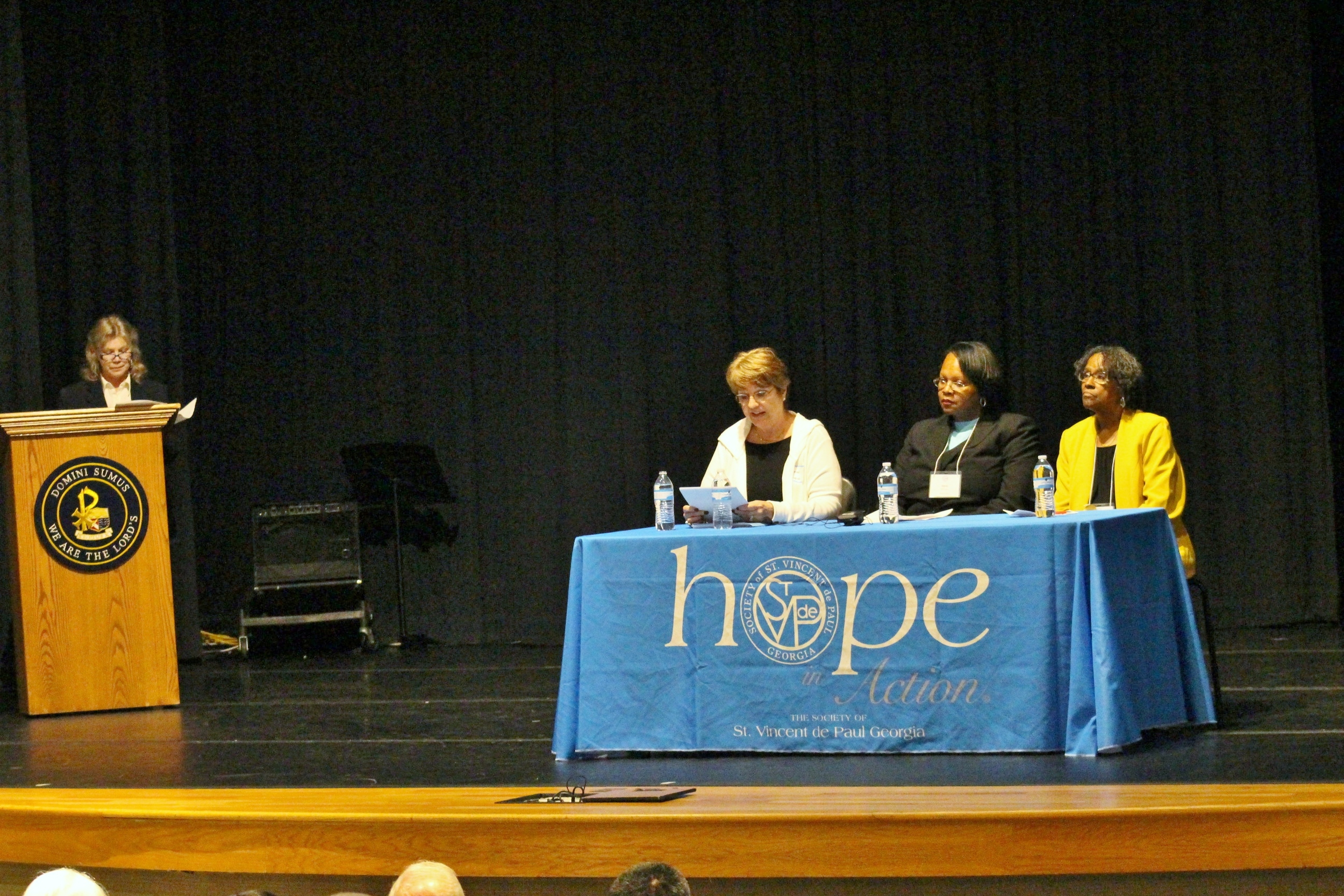Attendees enjoyed a Plenary Session on the topic of The Home Visit