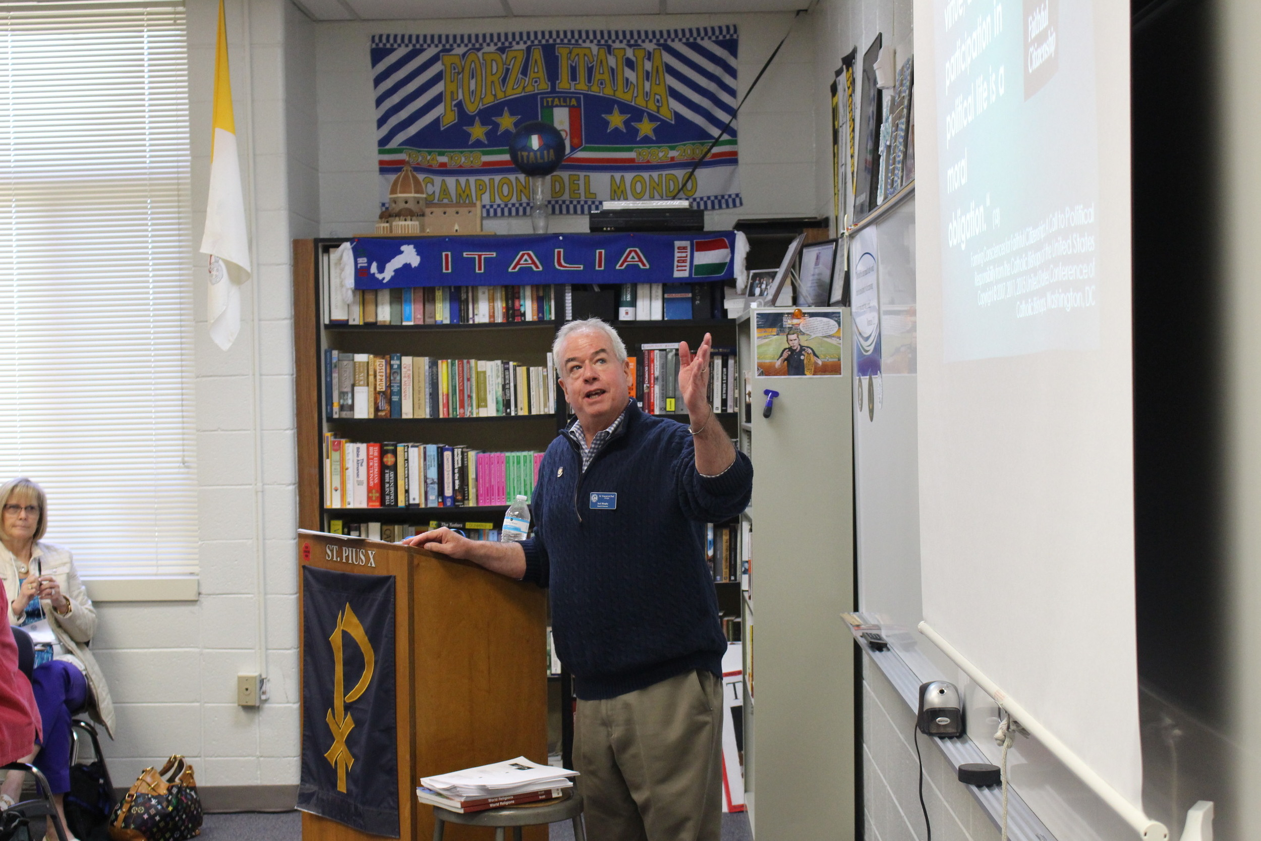 Jack Murphy presented a workshop on Spirituality of Advocacy