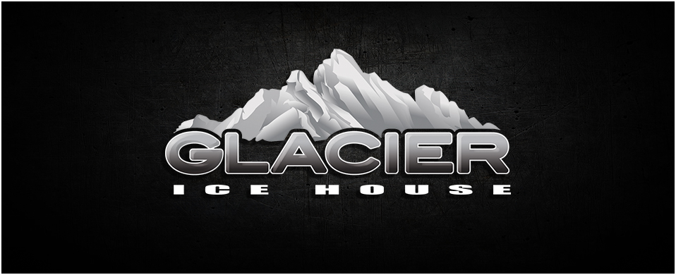 Glacier Ice House Logo Fish House