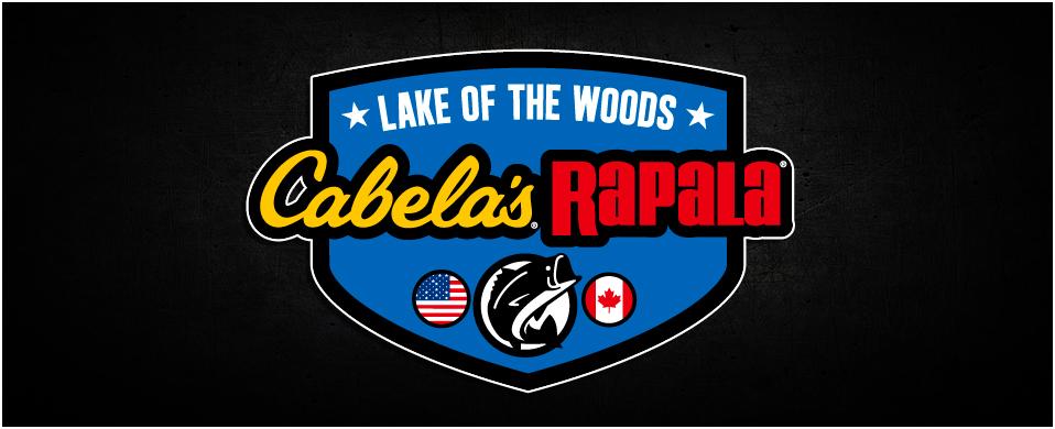 Cabelas Rapala Lake of the Woods Logo