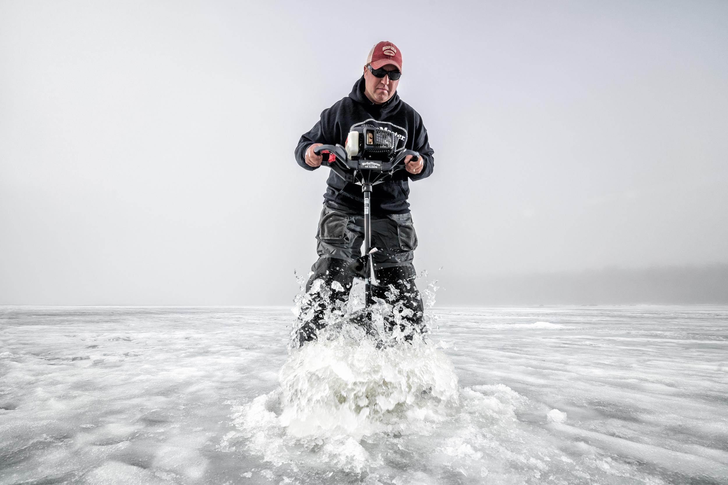 StrikeMaster Ice Augers Tony Roach