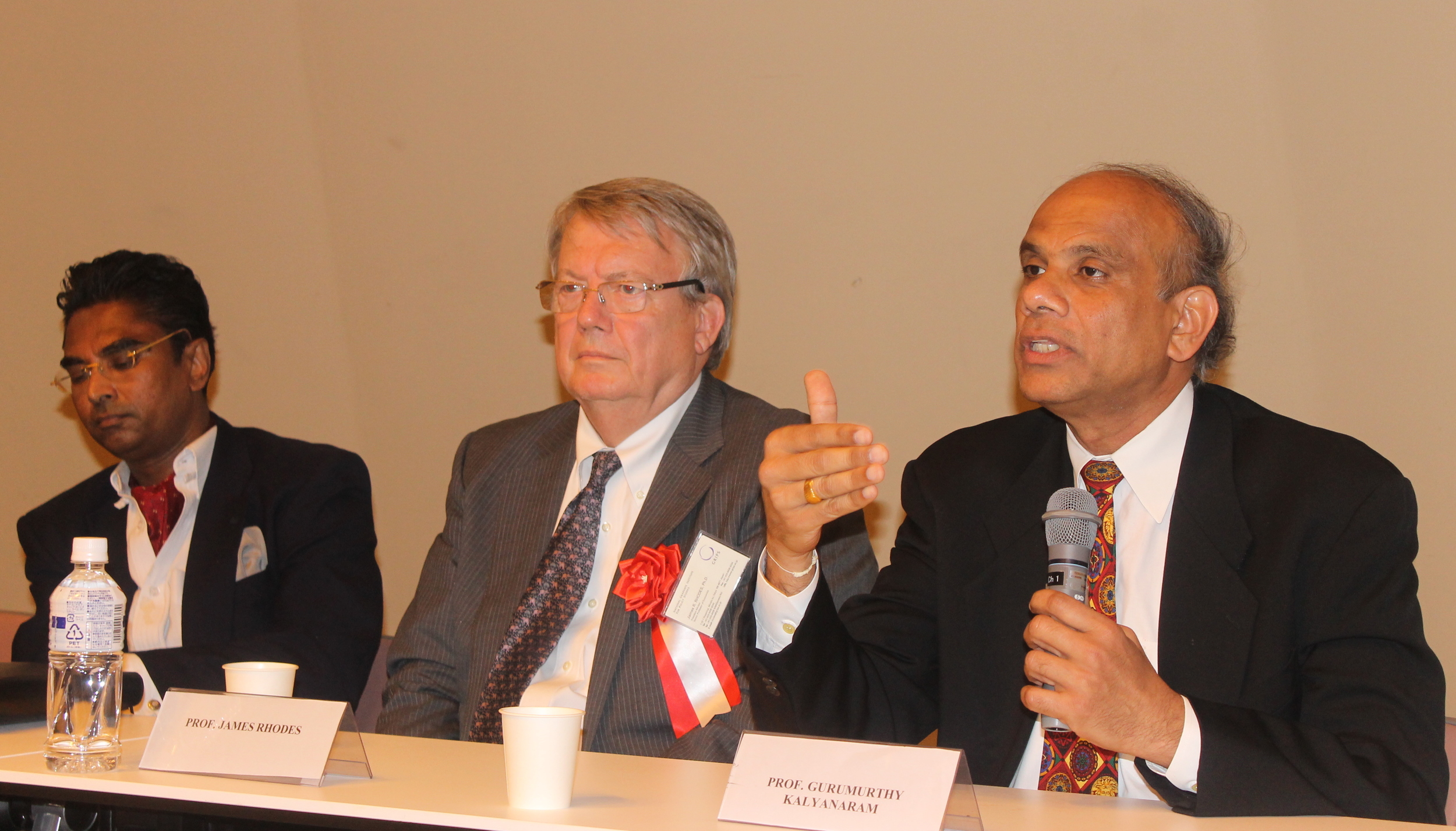 Dr. Gurumurthy Kalyanaram addressing a Conference in Japan.JPG