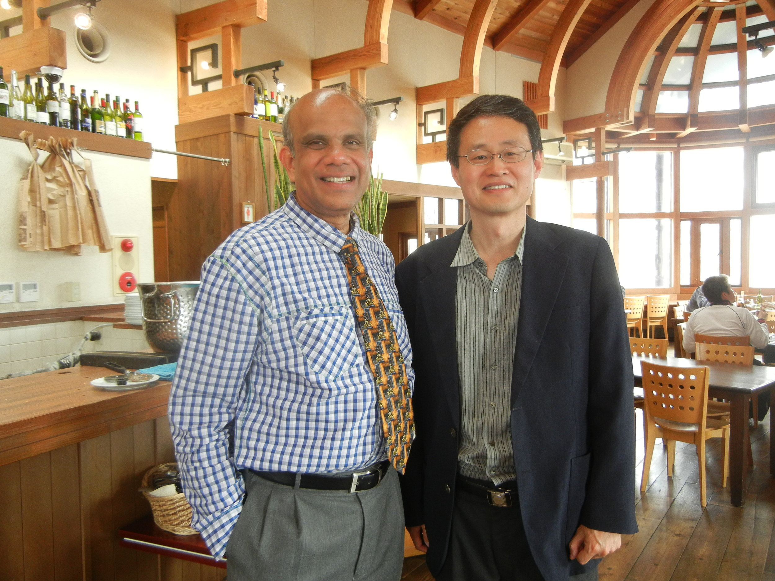 Dr. Gurumurthy Kalyanaram with Professor Lee of International University of Japan.JPG