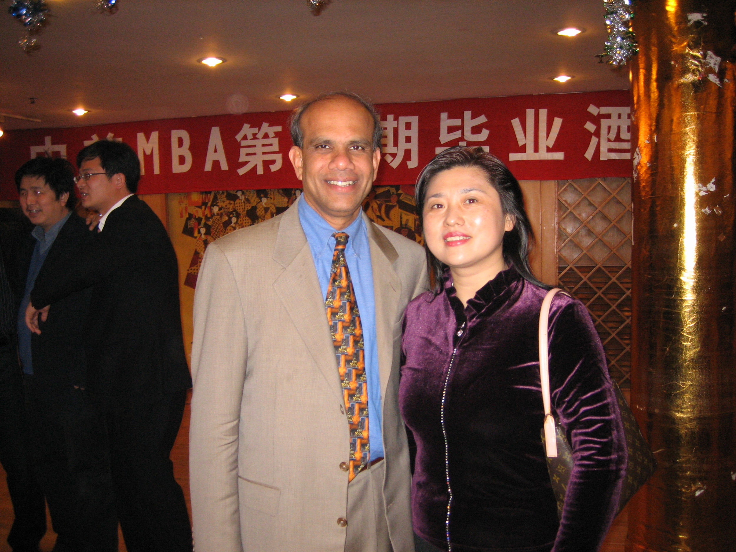 Dr. Gurumurthy Kalyanaram with Connine March of China.jpg