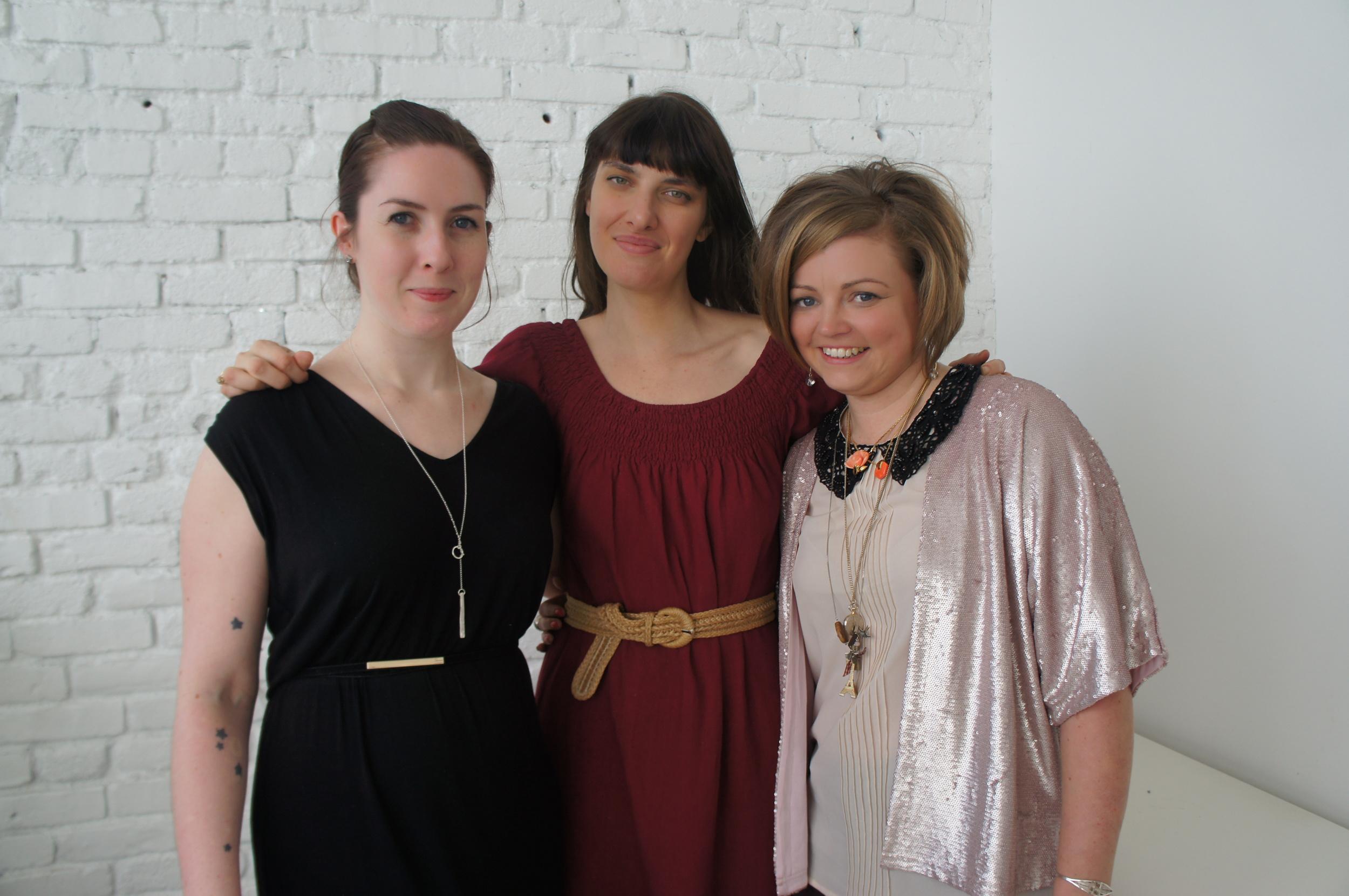Amy Merrick, Hayley Thomson & Kimberly Scott