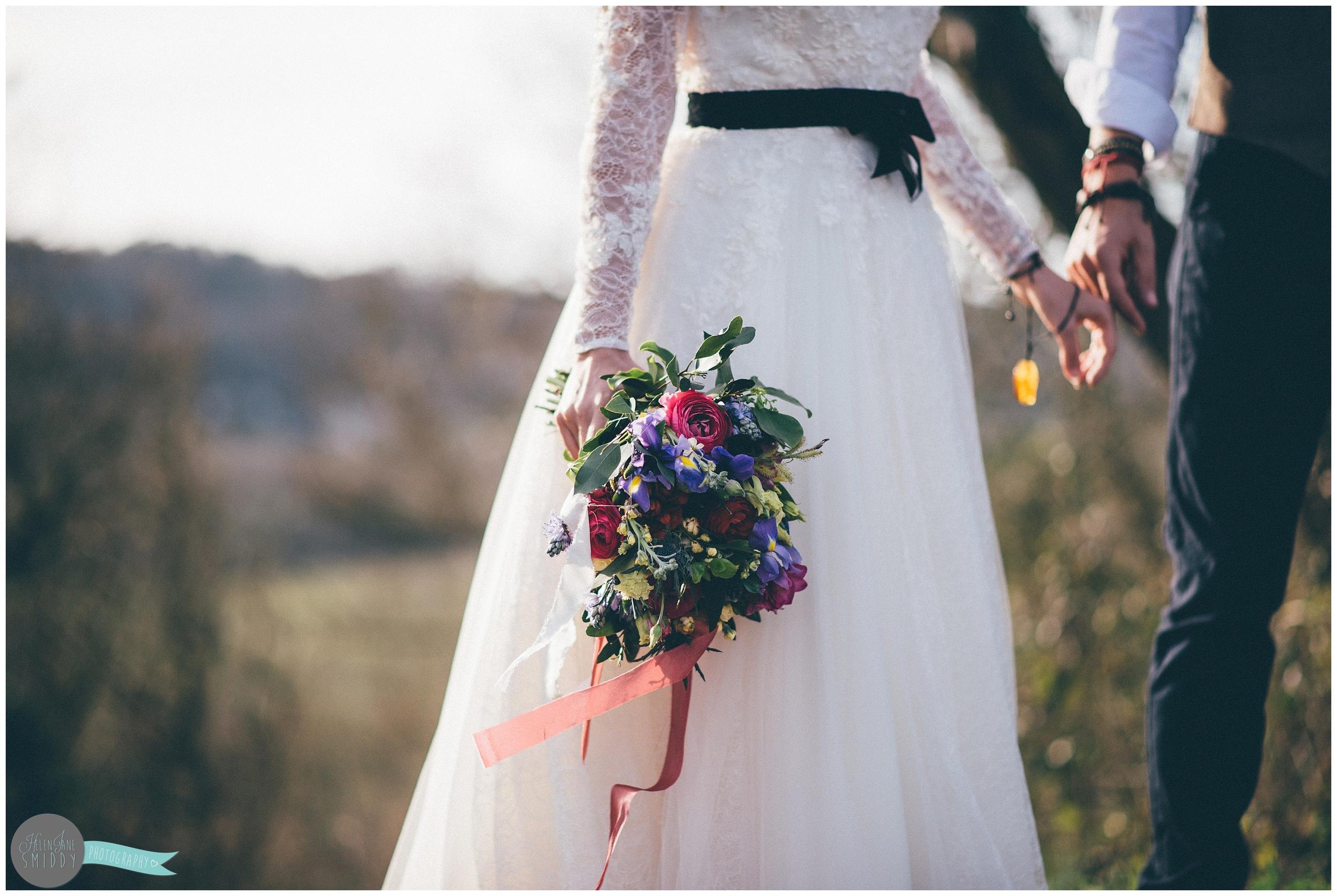 secret-wedding-ceremony-photography -snap-festival-boho-chic-vintage-wales-fforest-shabby-chic