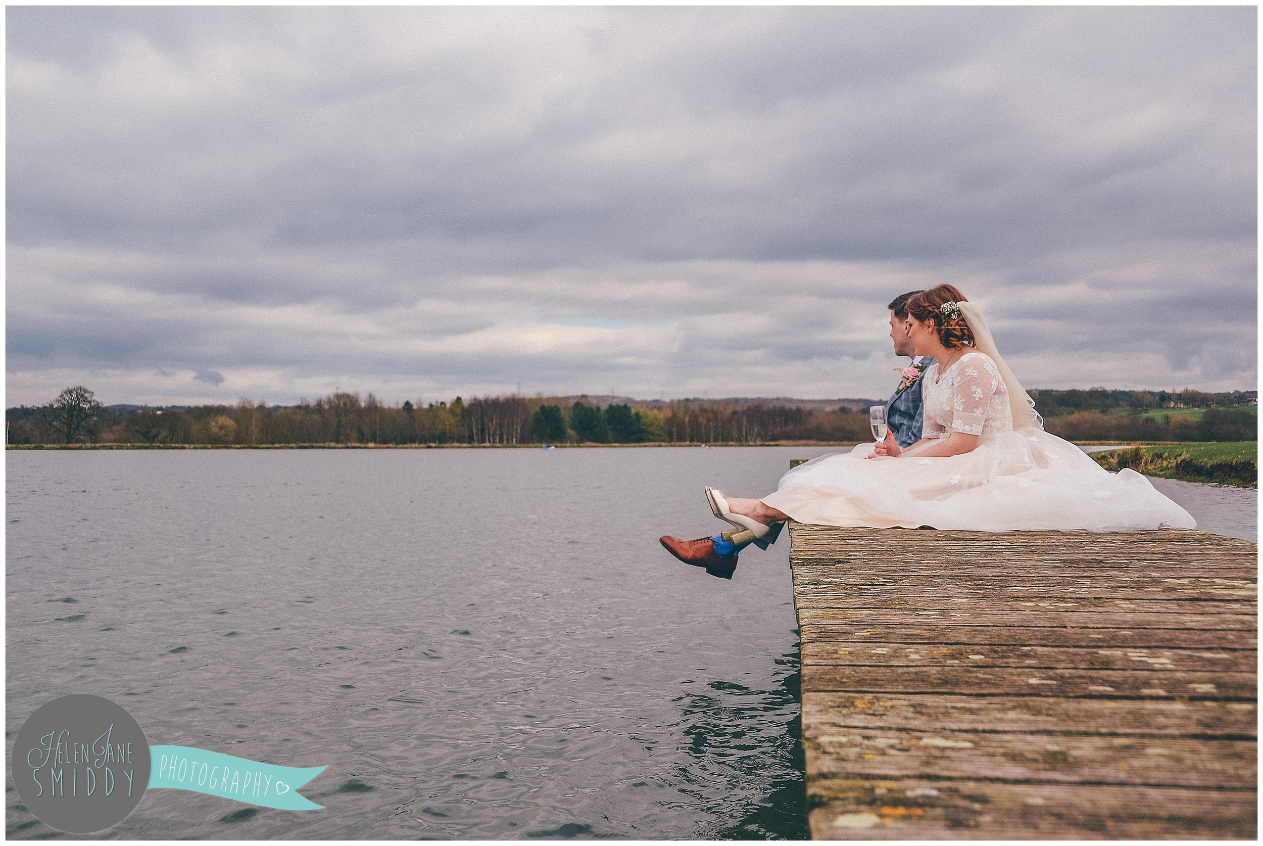 The perfect spring time wedding theme is on a waters edge.