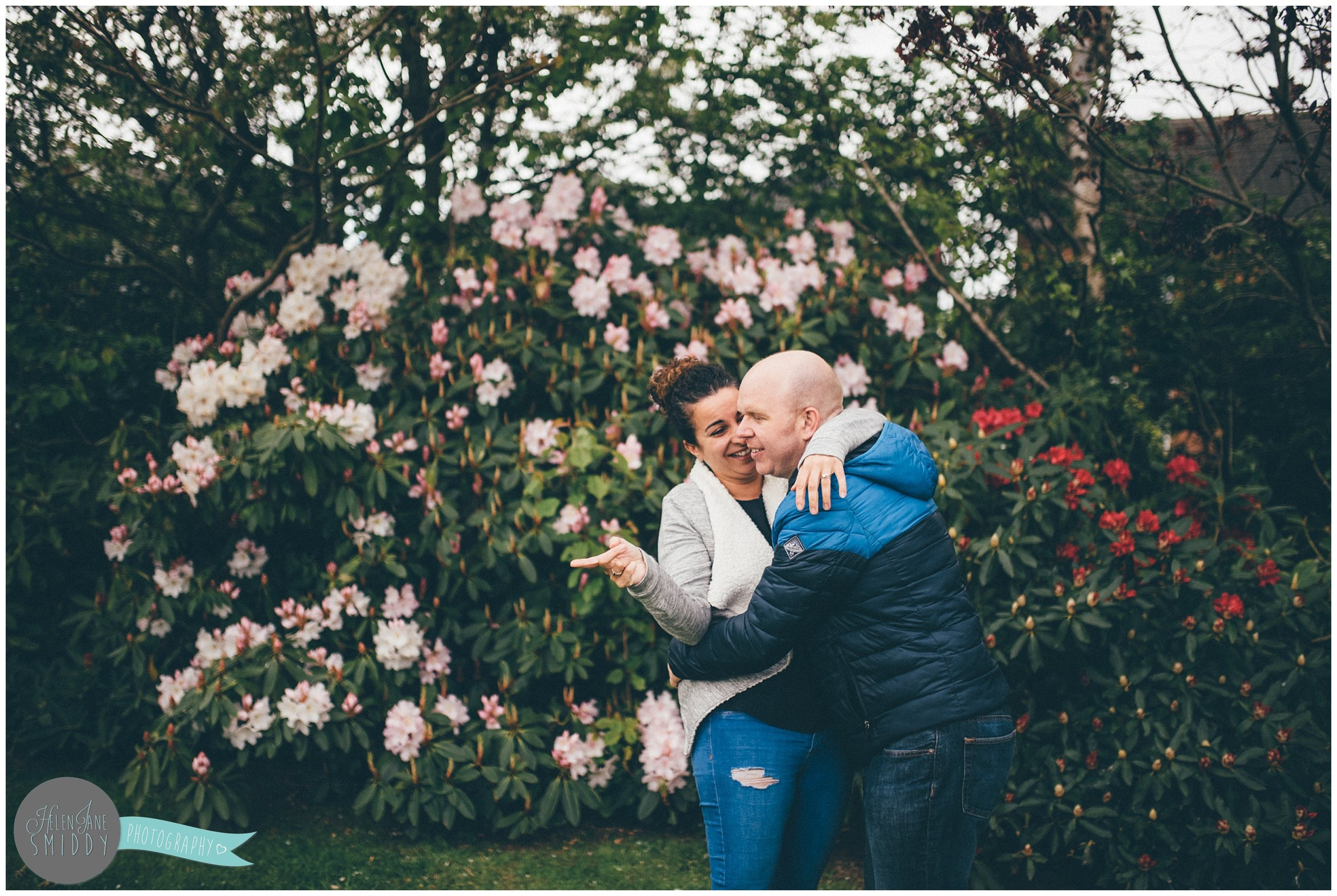 Family time in their Frodsham garden during an A Day In The Life photoshoot in Cheshire.