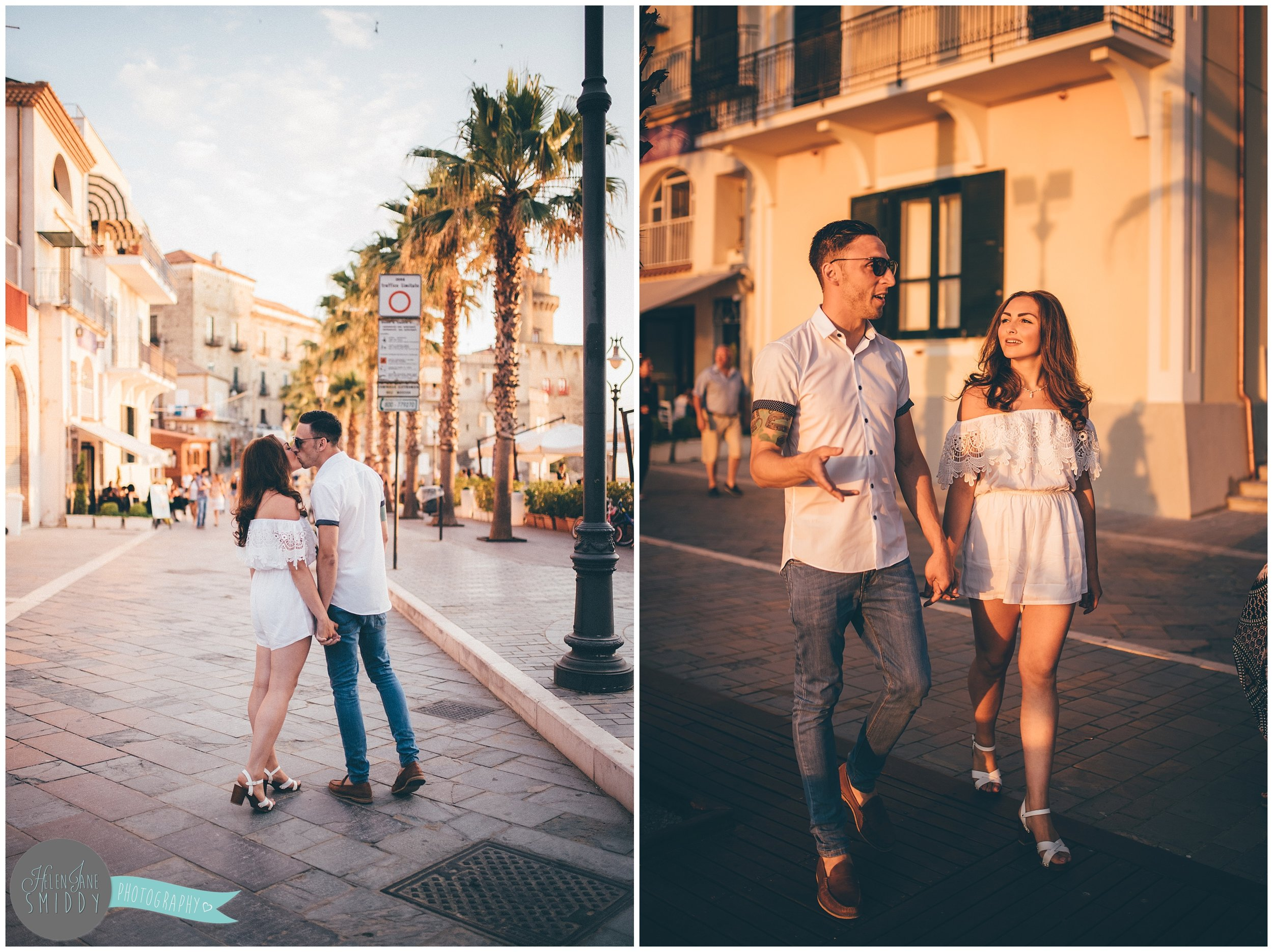 Pre-wedding shoot in Santa Maria Di Castellabate.