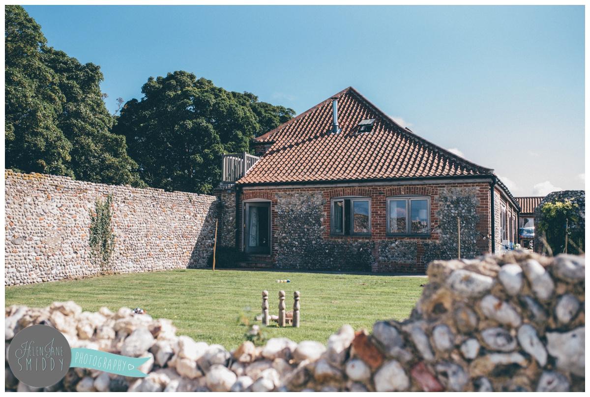 Wedding veue, Barn Drift in Norfolk on a sunny September day.