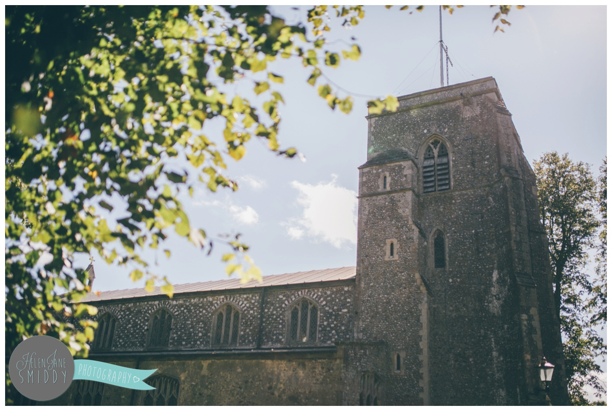 Norfolk Church on a sunny September morning.