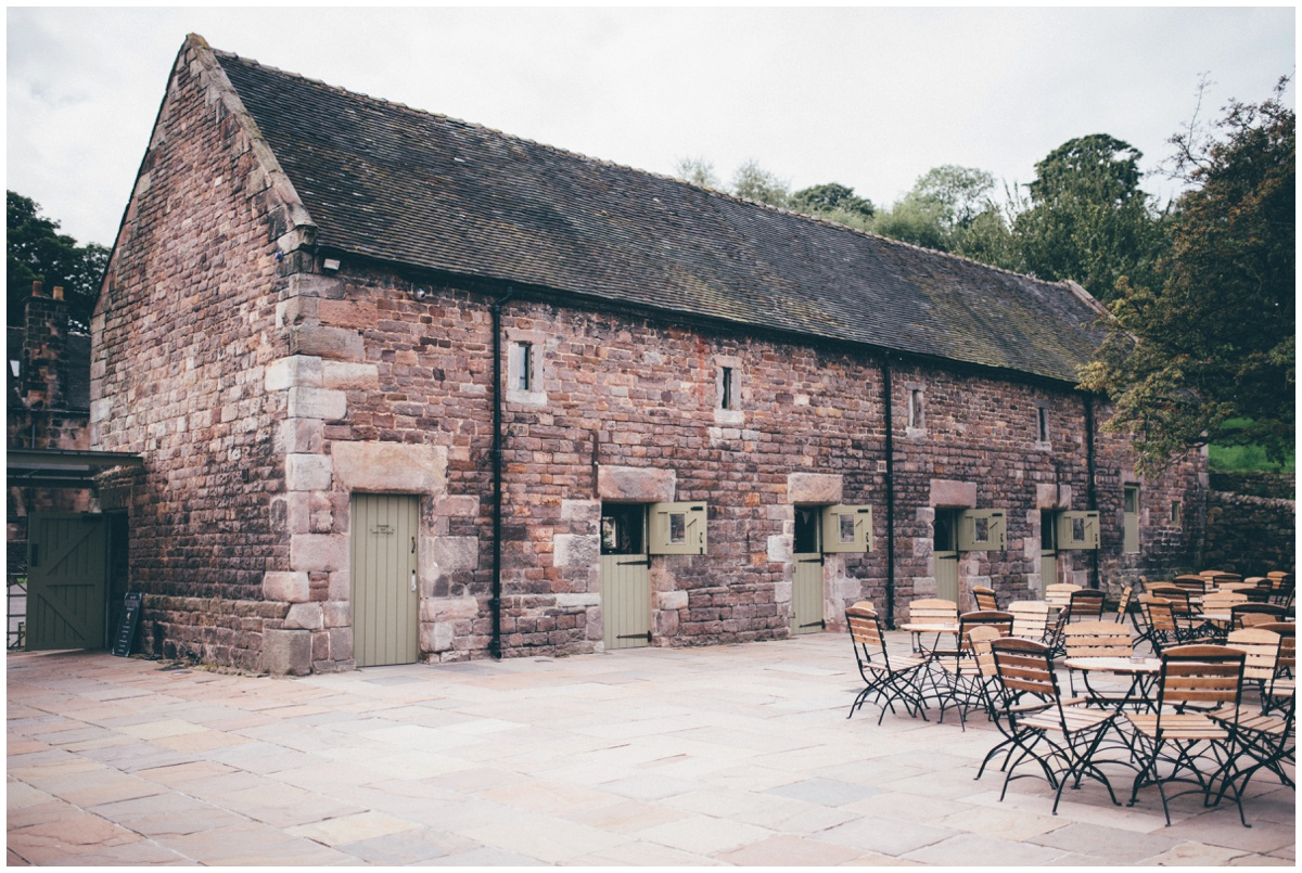 The Ashes wedding barn in Staffordshire.