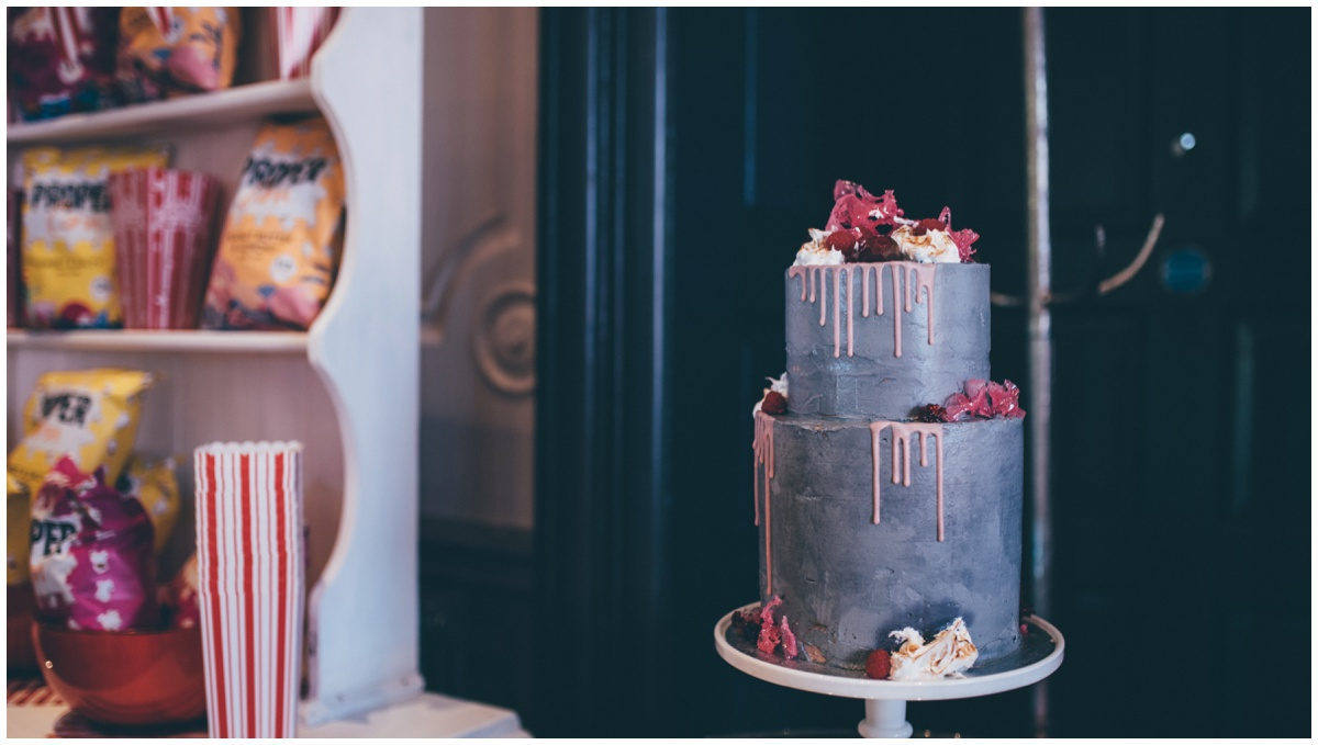 Incredible wedding cake by Ben Read for Chester wedding.