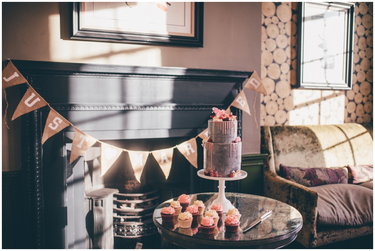 Stunning wedding cake by Ben Read Cakes.