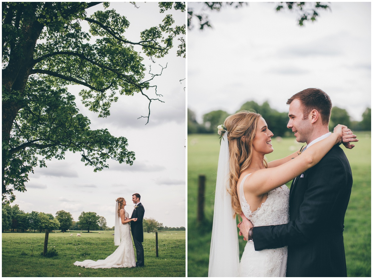 Stunning wedding photographs by Cheshire wedding photographer at Merrydale Manor, new venue, close to Manchester.
