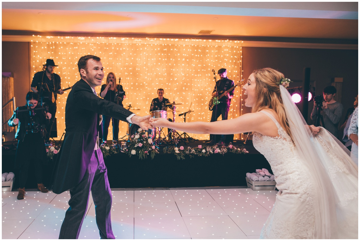 First Dance at Merrydale Manor in Cheshire.
