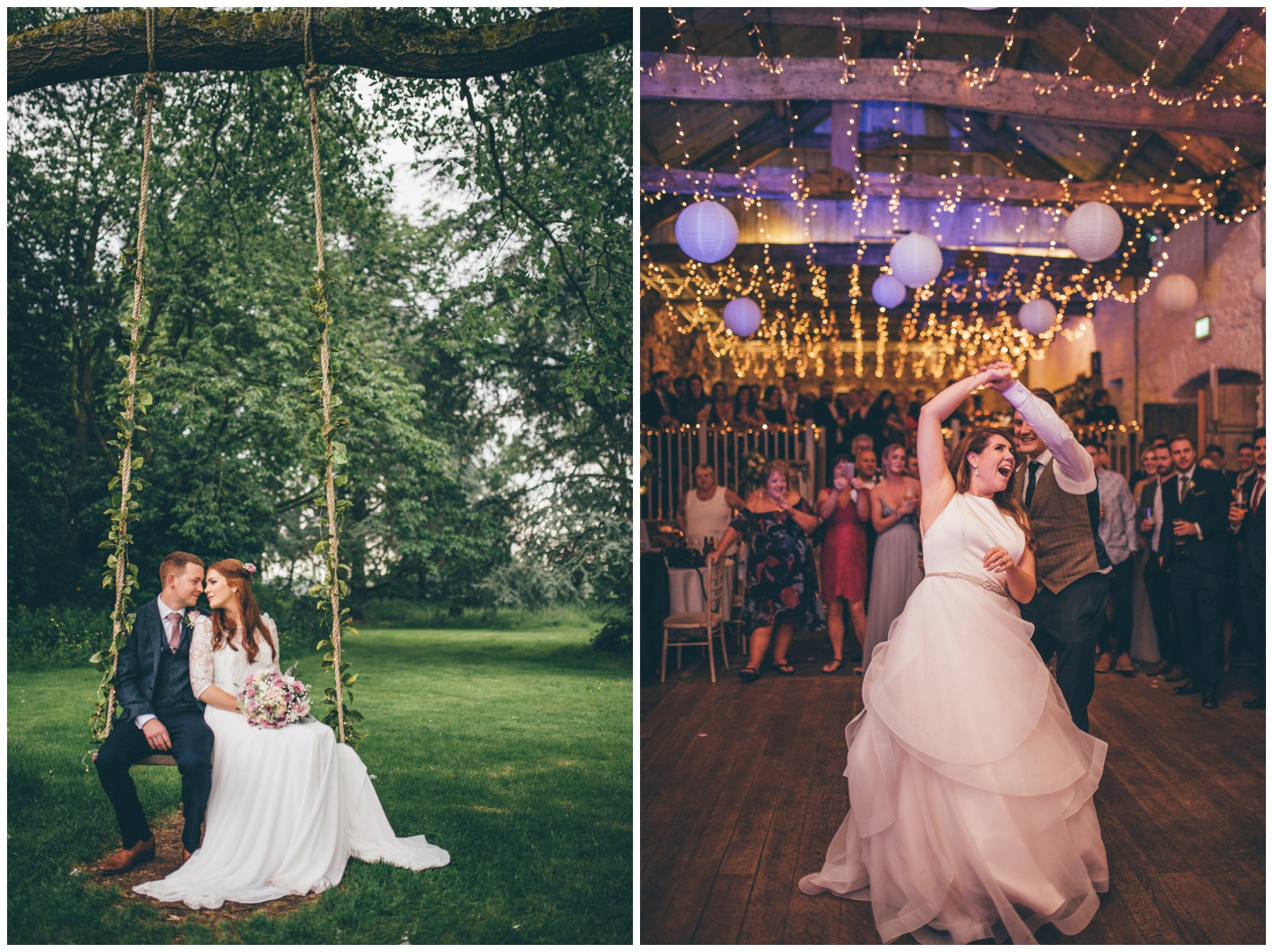 Trafford Hall wedding and the First Dance at an Askham Hall wedding.