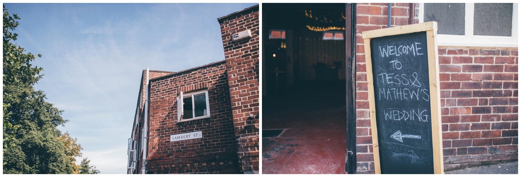 The Hide, a Sheffield city centre urban wedding venue.