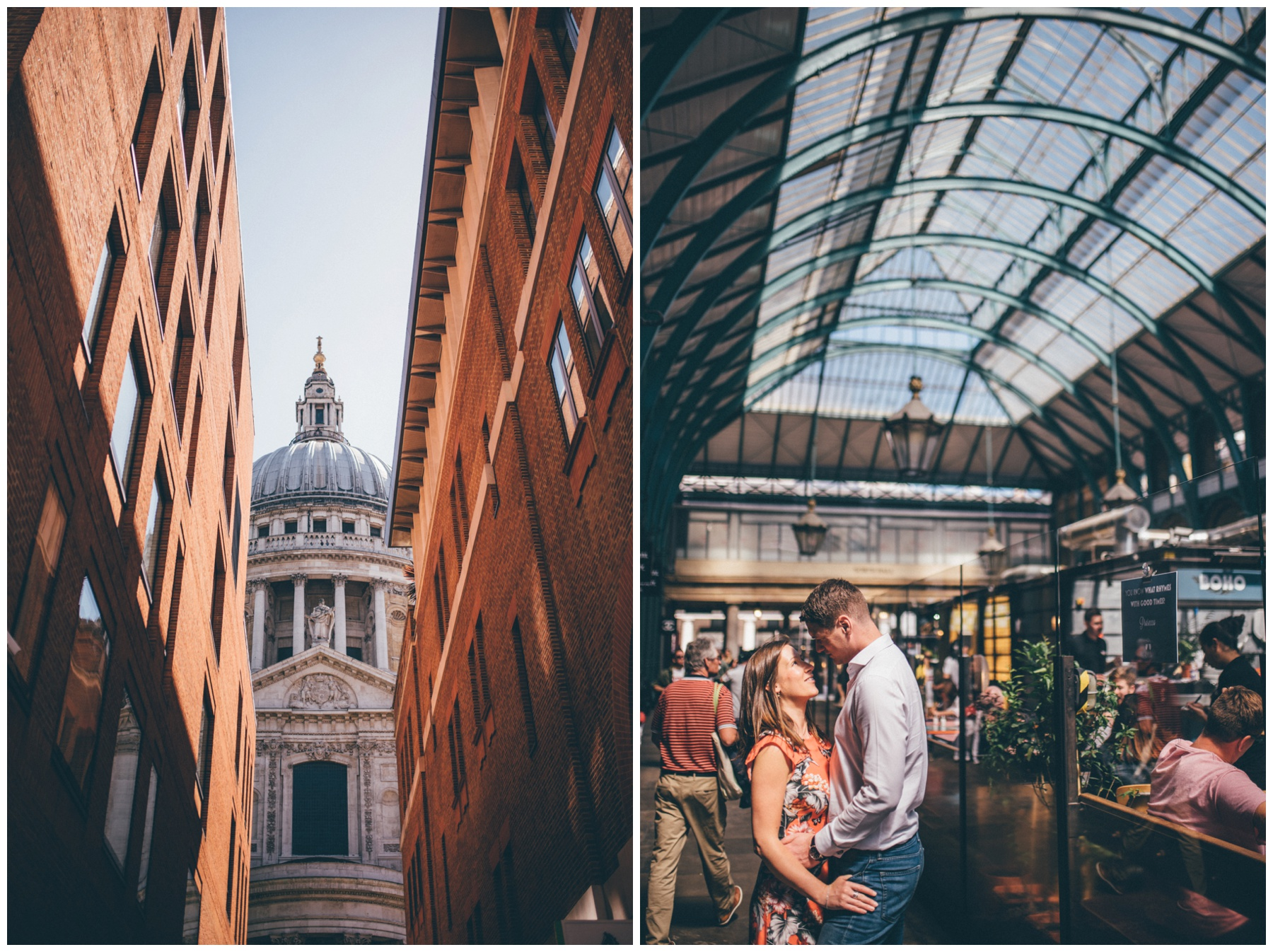 Photoshoot around Covent Garden.