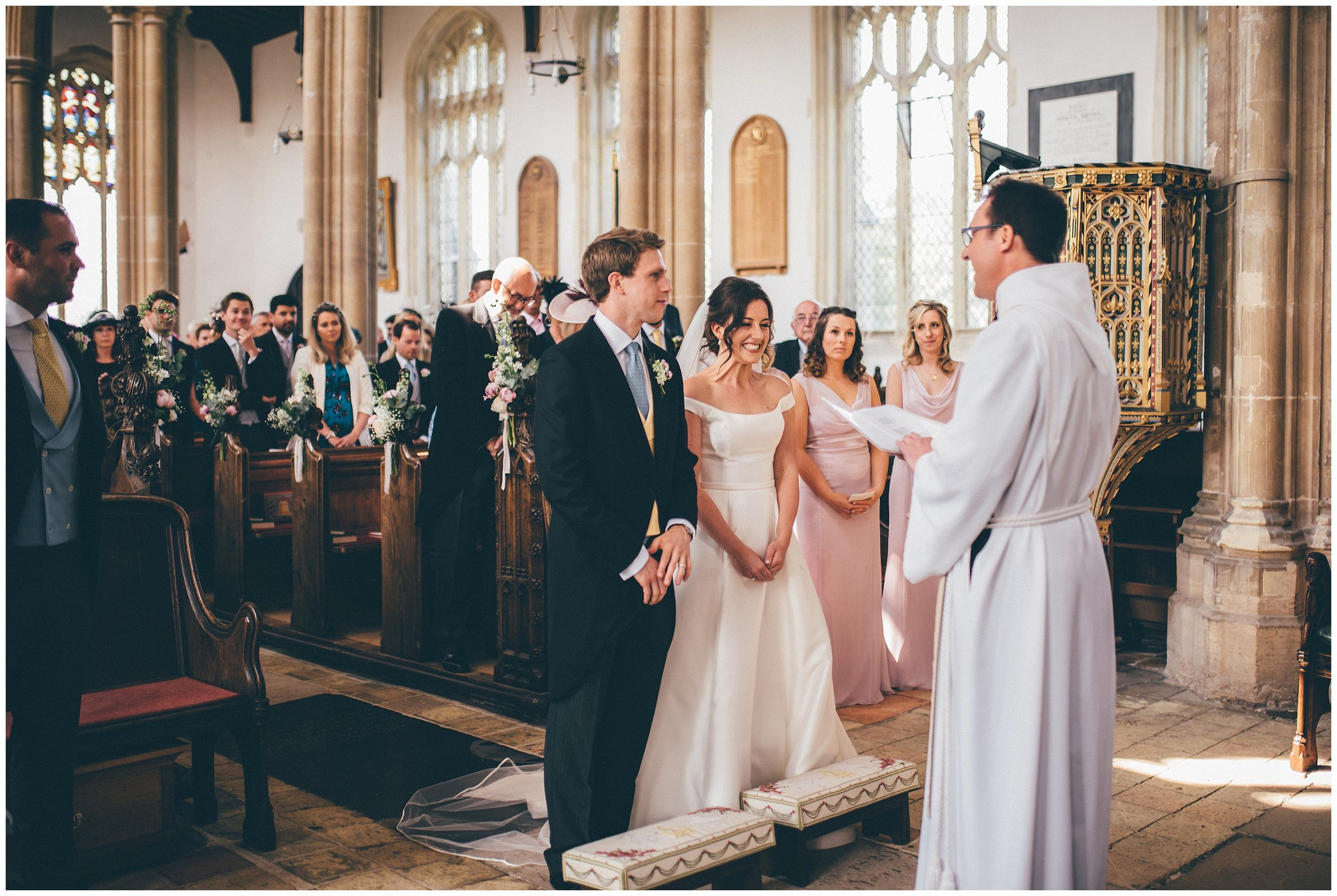 Wedding at St Edmunds Church in Southwold.