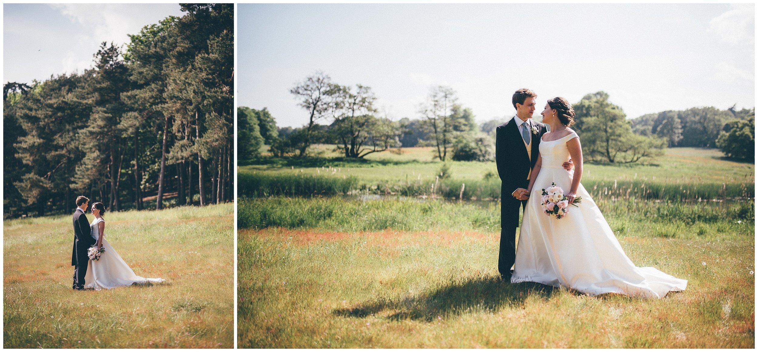 Cheshire wedding photographer at Henham Park wedding barns.