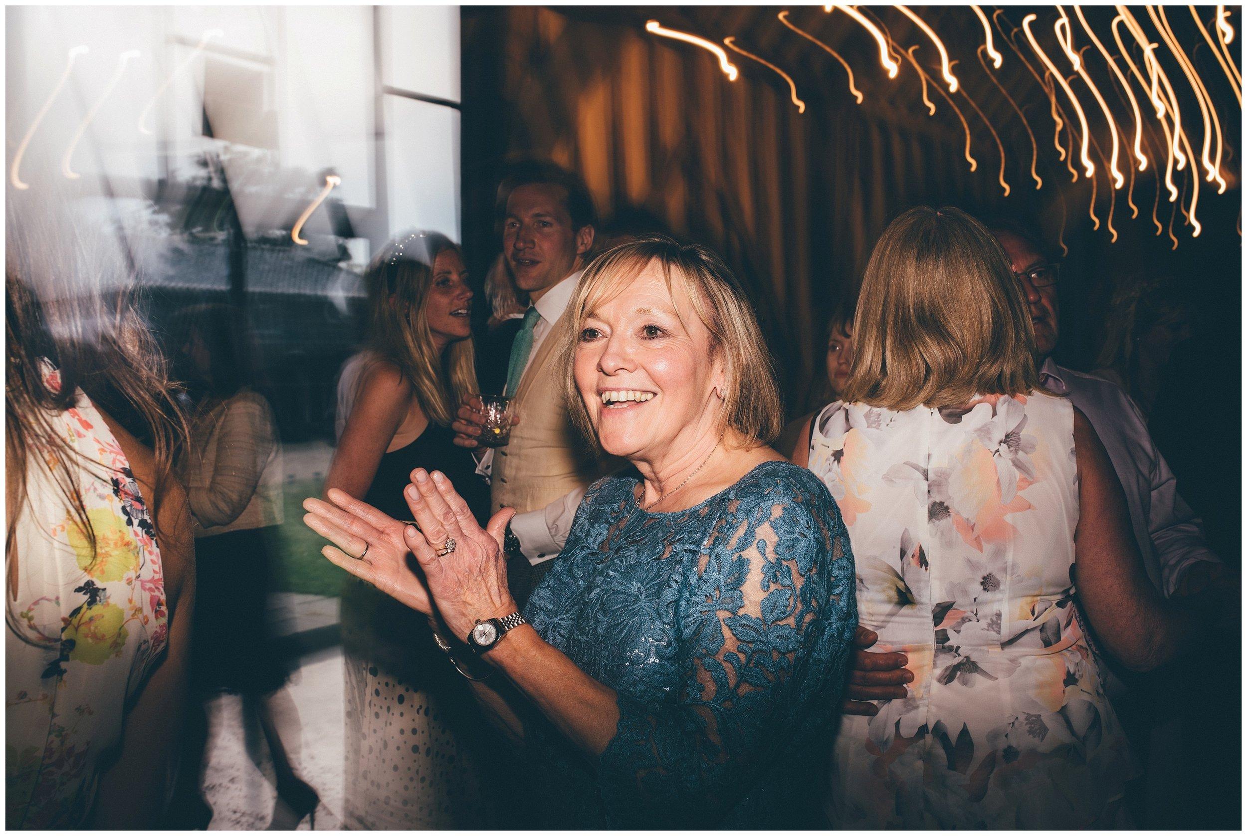 Party on the dancefloor at Henham Park.