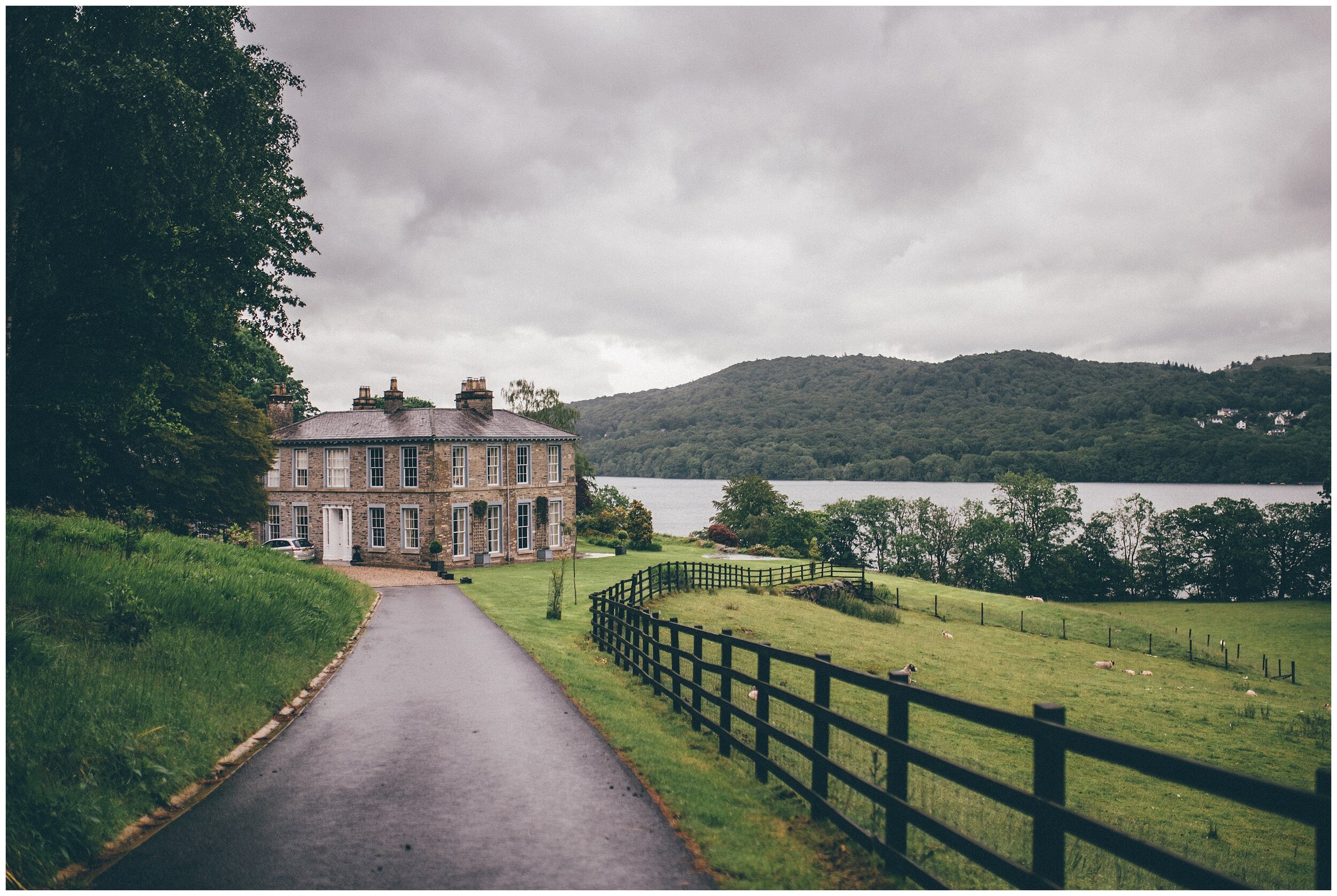 Beautiful wedding venue Silverholme Estate in the Lake District.