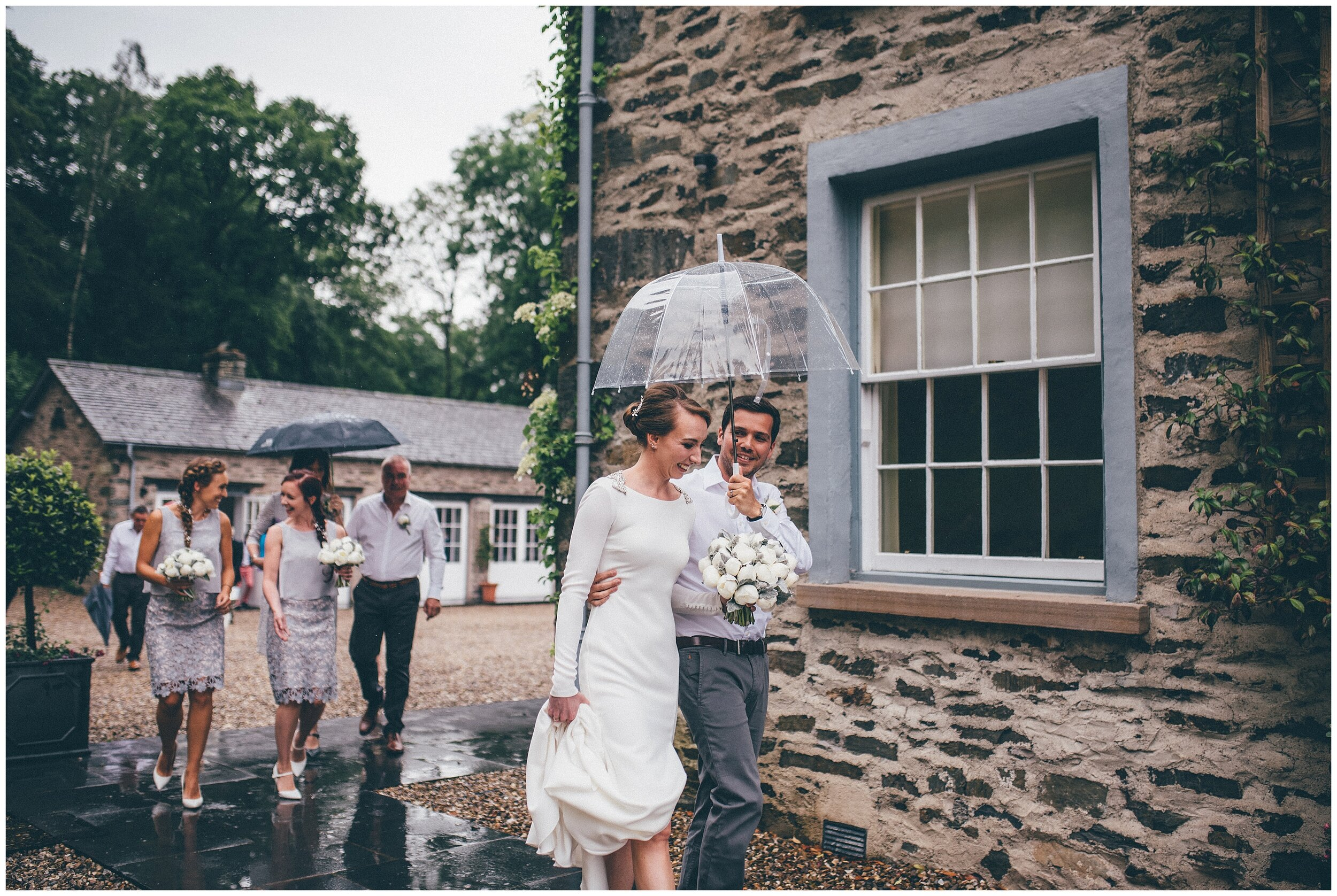 Silverholme Manor wedding photographed by Cheshire wedding photographer in the Lake District.