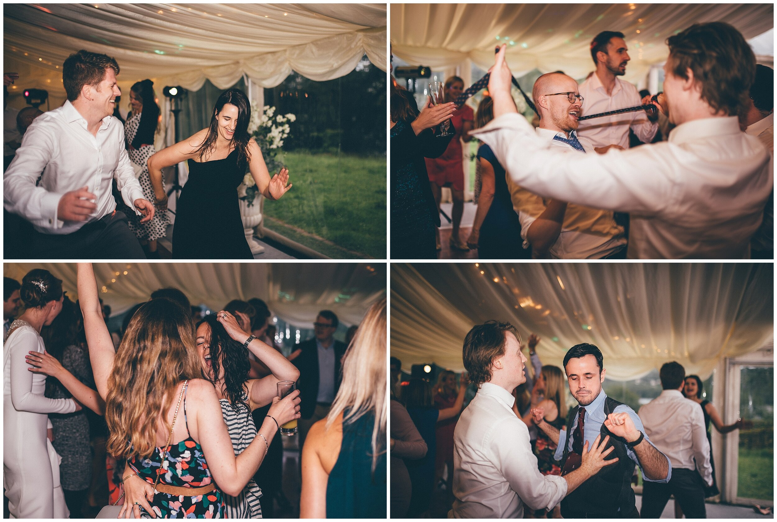 First Dance at Silverholme manor, Graythwaite Estate wedding in the Lake District.