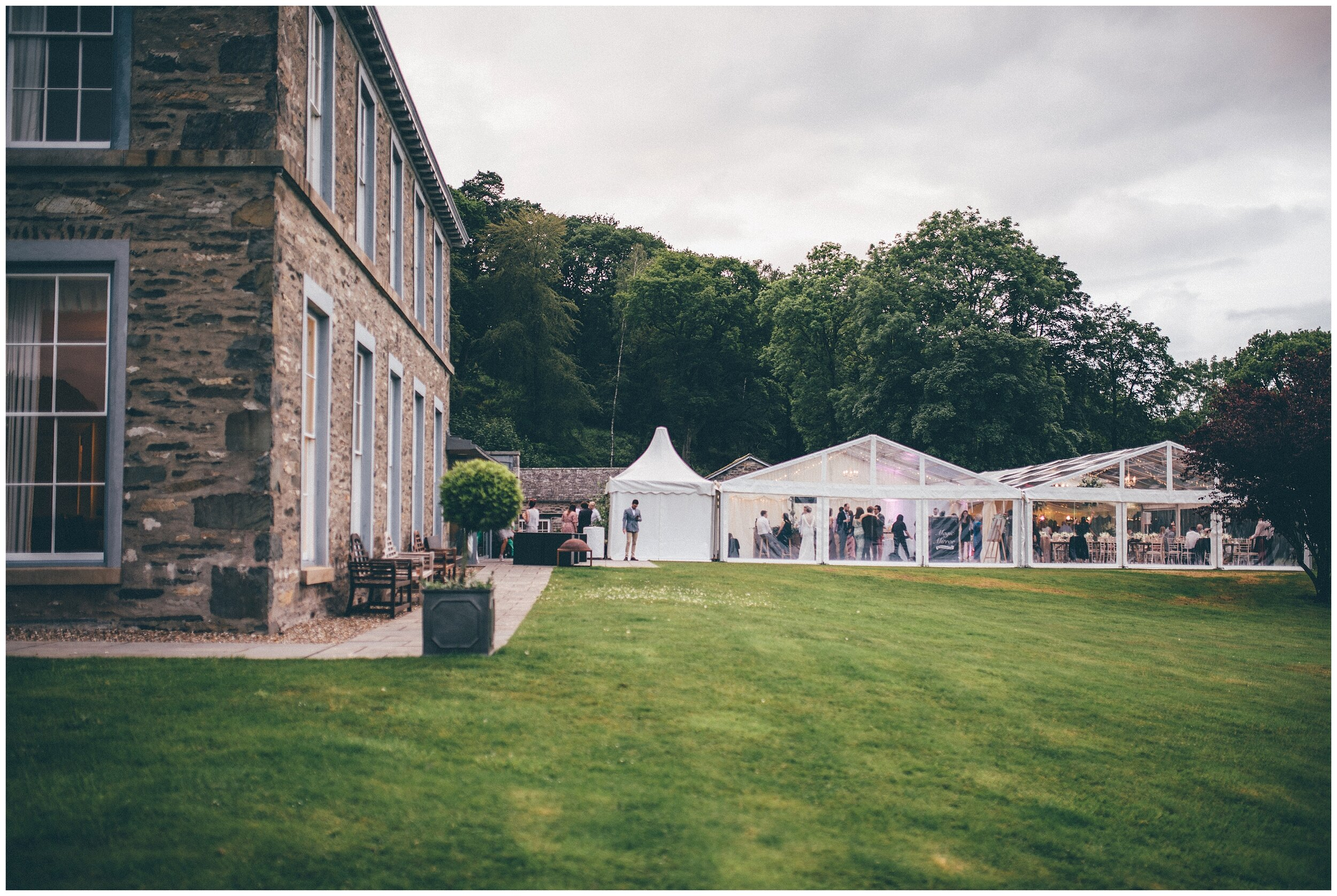 Silverholme manor, Graythwaite Estate wedding in the Lake District.
