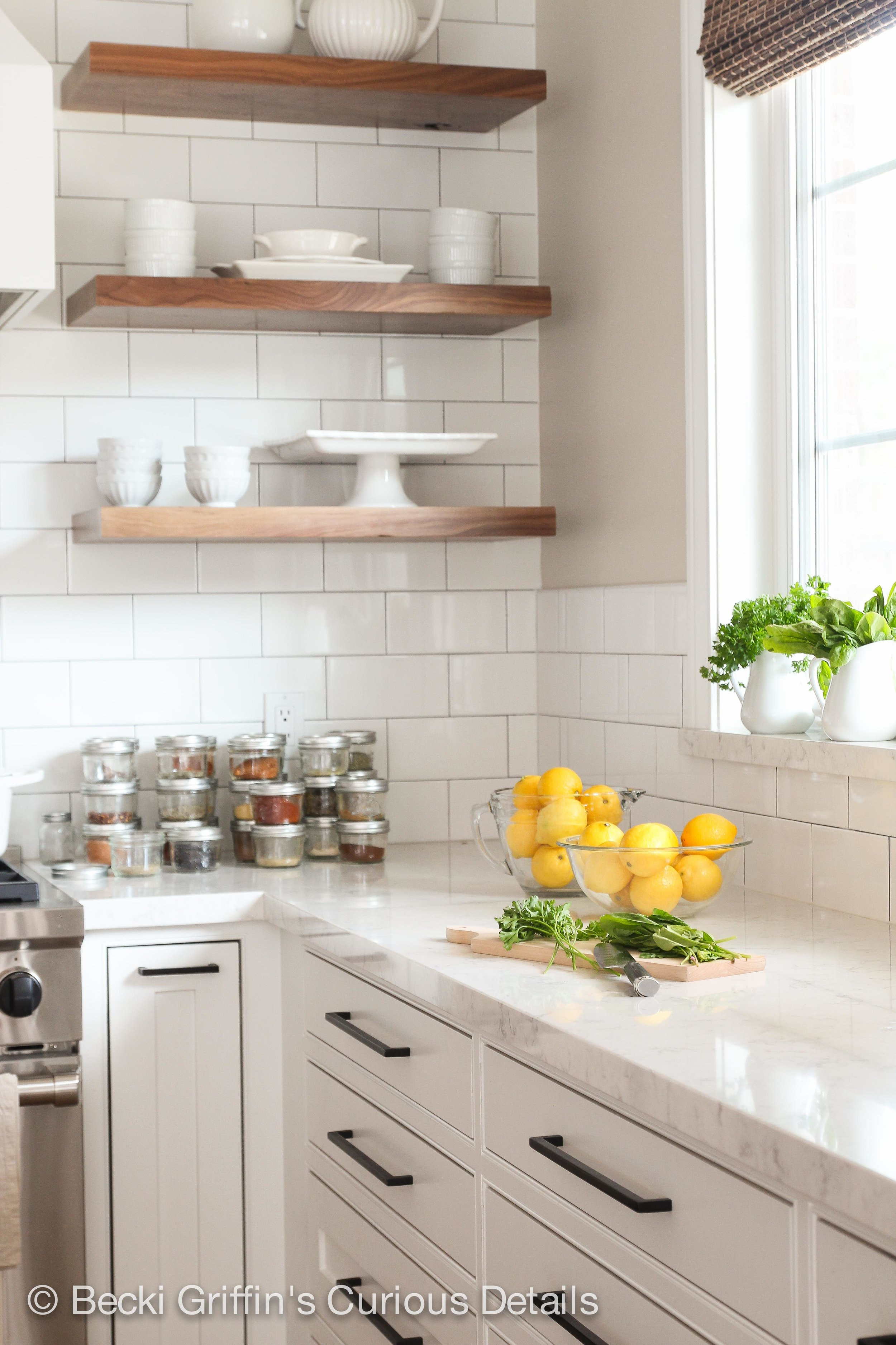 The new quartz countertops are beautiful and extremely durable. A great choice for a big family kitchen.