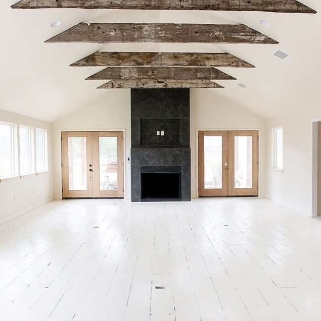 """The """"great room"""" at the new Boho Cottage. Perfect for events and workshops."""