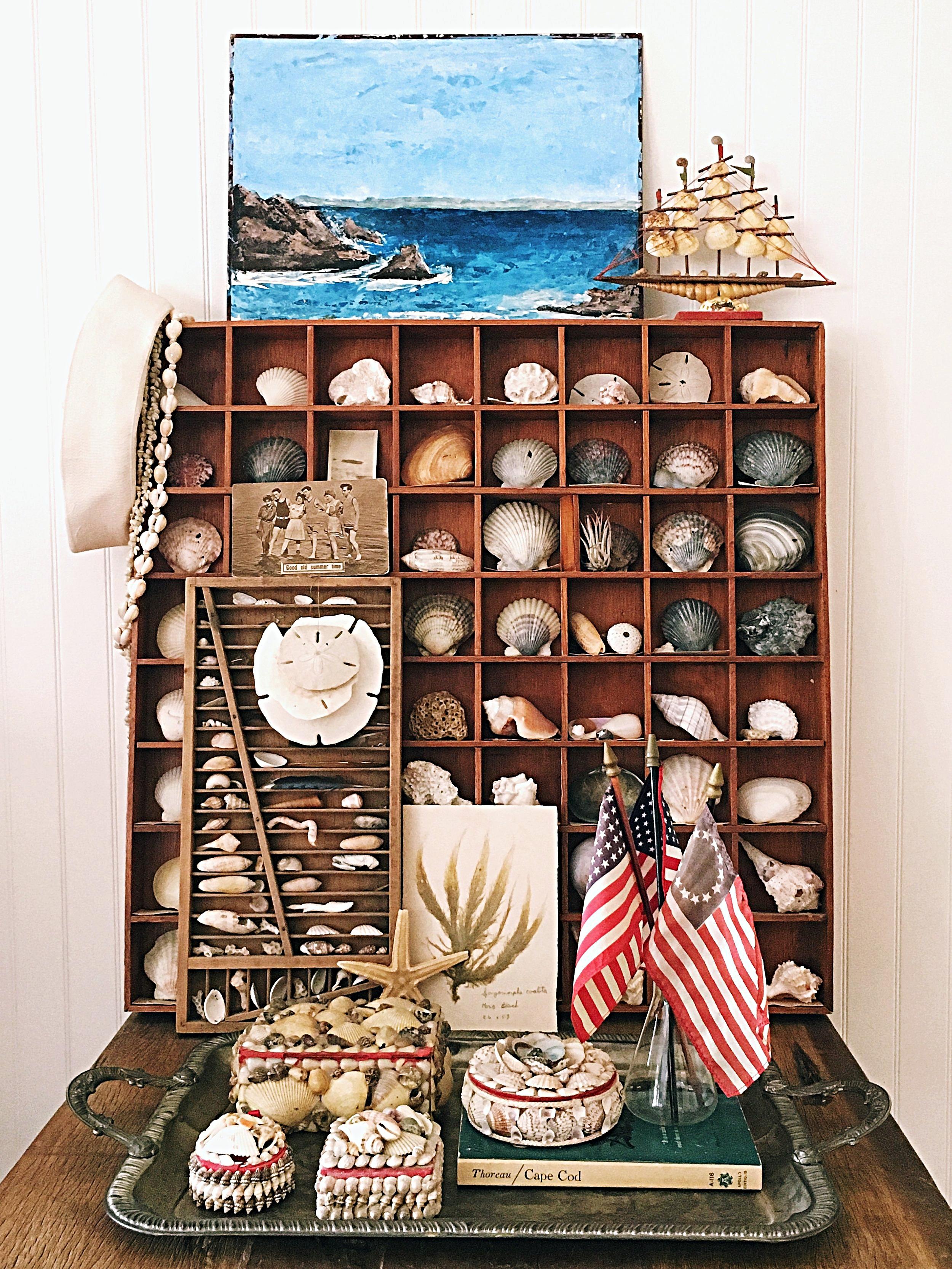 Vintage Seashell Styling