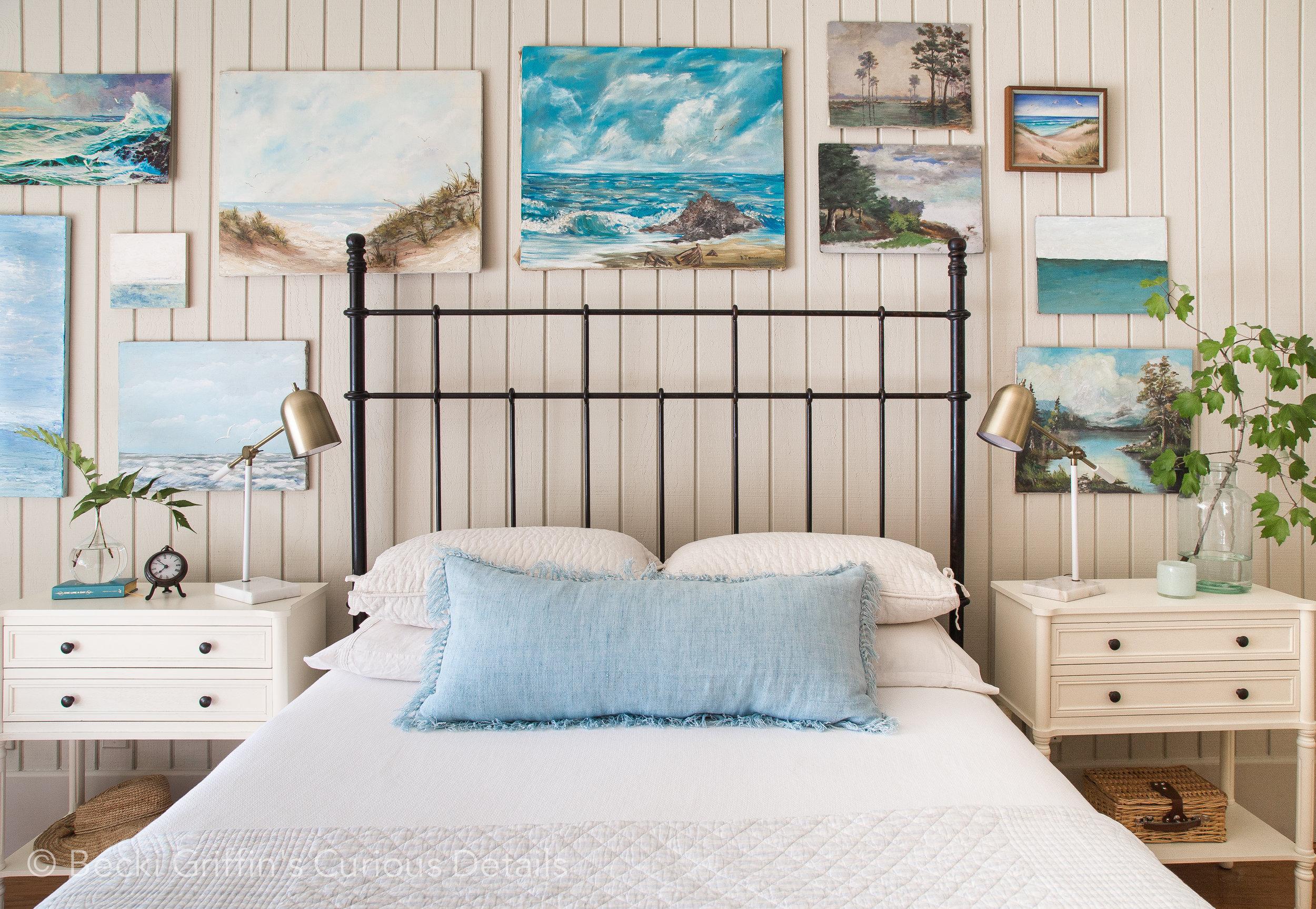 Coastal Bedroom Becki Griffin's Curious Details