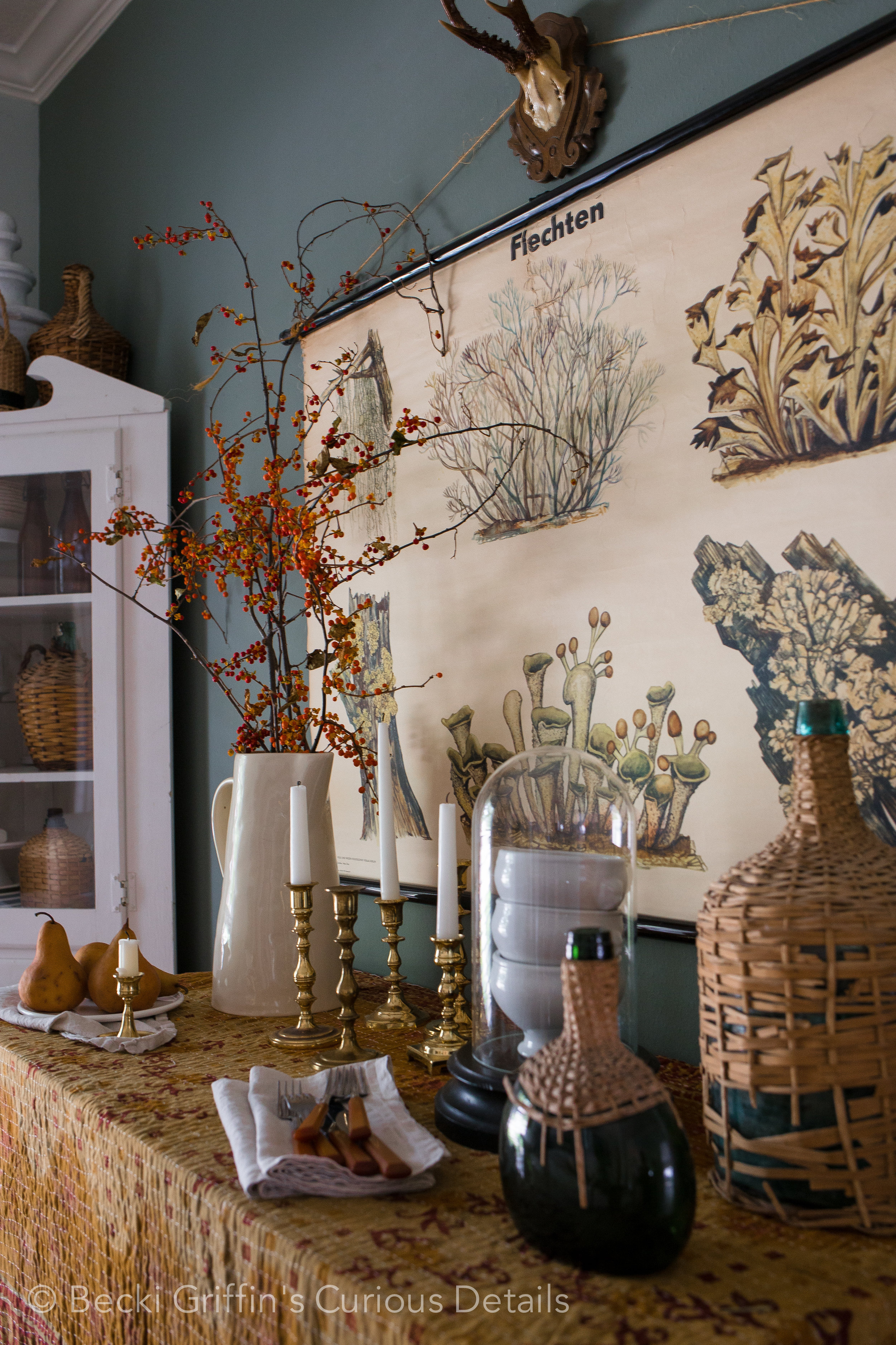 Curious Details Fall Dining Room