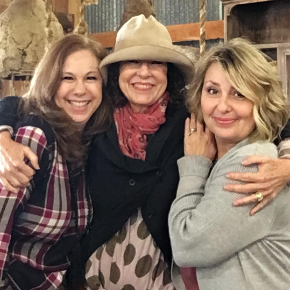 Allison, Carol, and Becki.