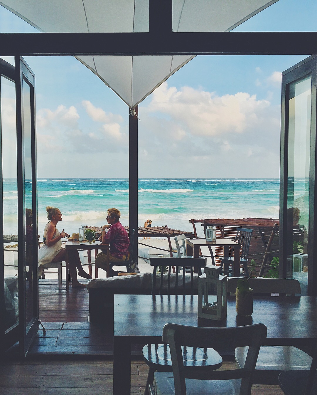 Lunch View @ The Real Coconut, Sanara