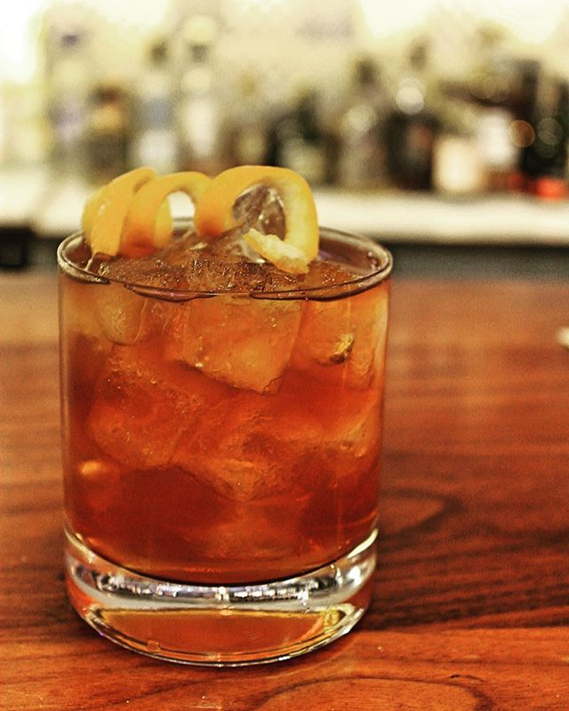 The Old Whistles - Four Roses Bourbon, PX Sherry, Honey, Bitters. Winter warmer #winter #bourbon #londonfoodie #restaurant #spanish #portugal #london #oldstreet
