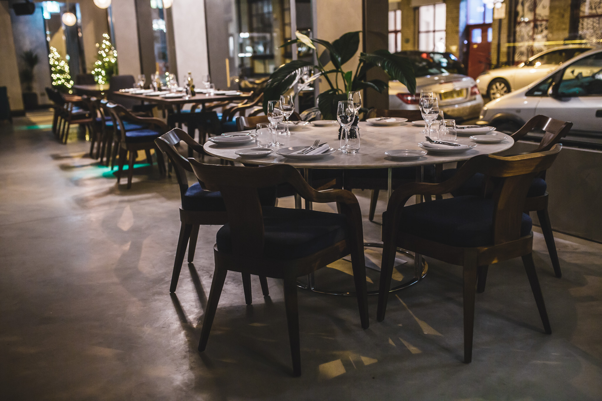 70 Leonard Street  Championing Iberian gastronomy with a focus on Portuguese and Spanish traditional cuisine. Formerly known as Eyre Brothers.