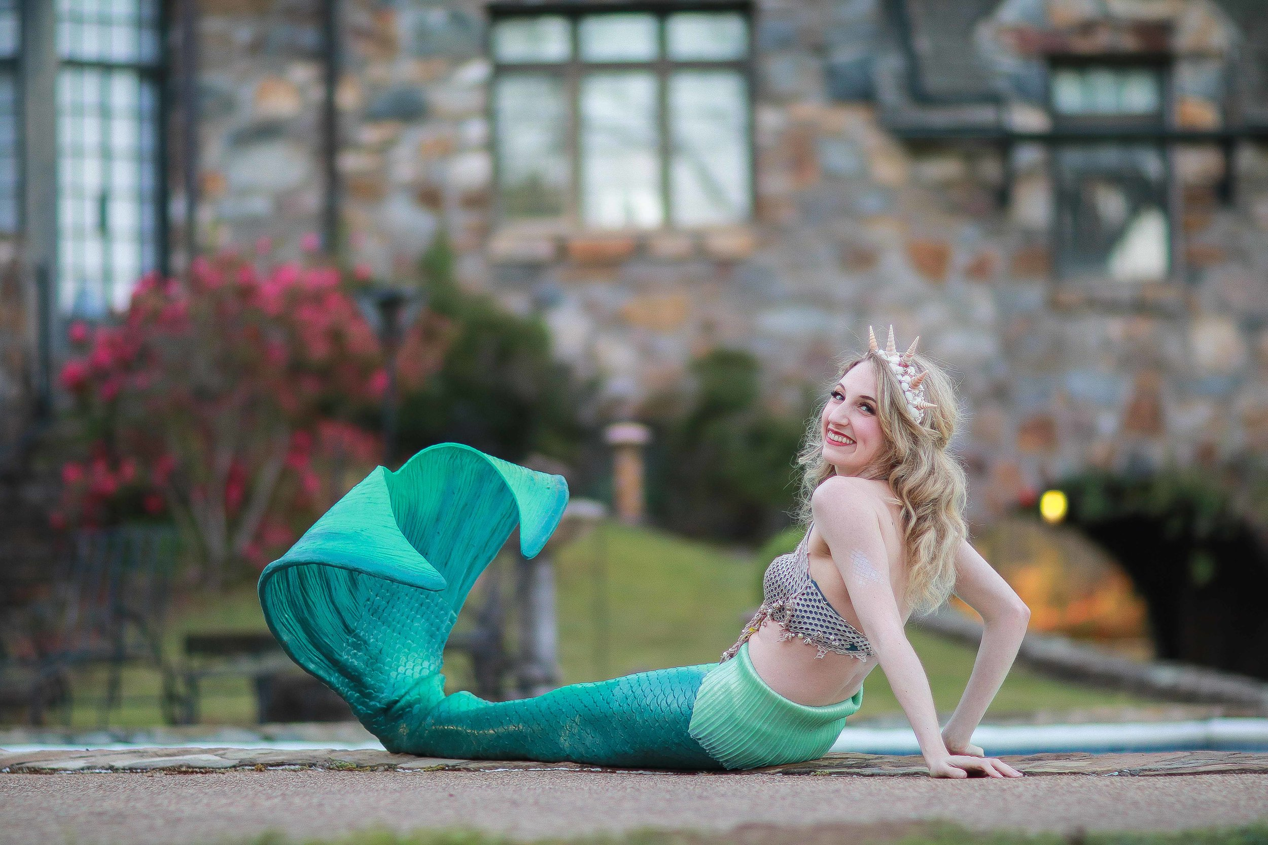 Emerald/Mint Tail Mermaid