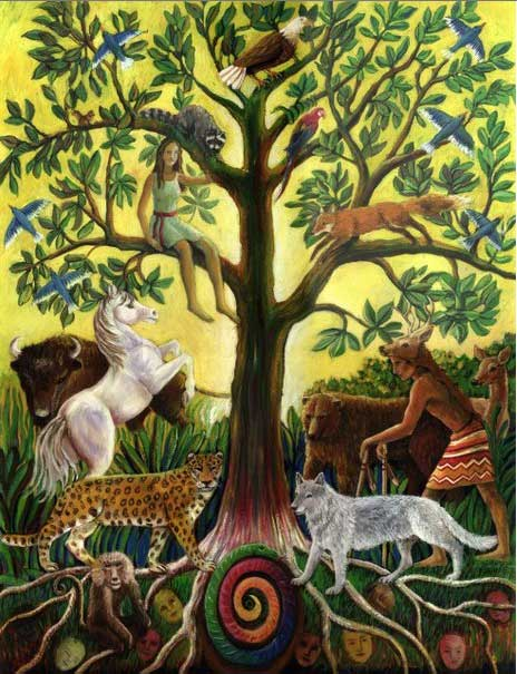 TREE OF LIFE by artist Suzanne Deveuve