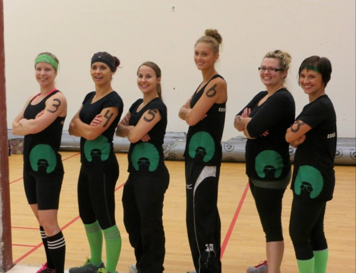 The 2014 Estevan FemSport team.