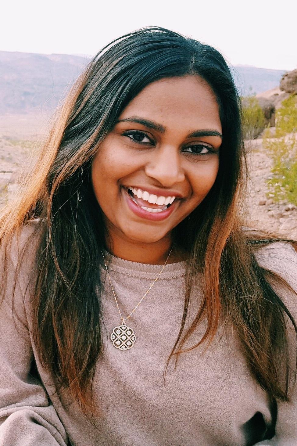 Diviya Rajesh - Biology & Race/Ethnicity StudiesTuscon, Arizona
