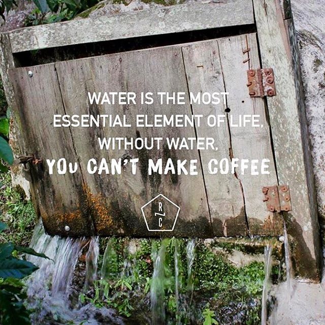 Take care of water💦 • HAPPY WEEK AWESOME #COFFEEPEOPLE !