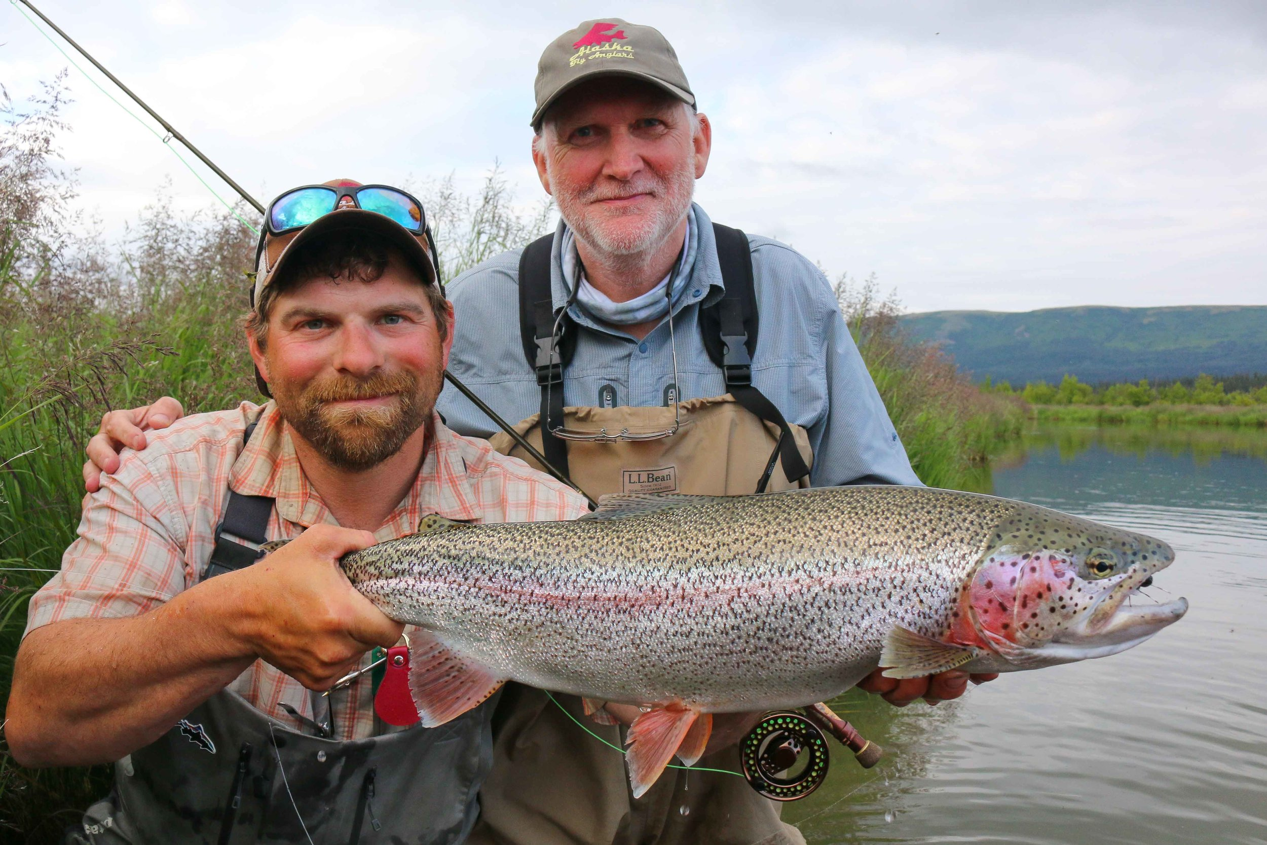 Andy's fat and healthy early July 2016 hopper caught trout